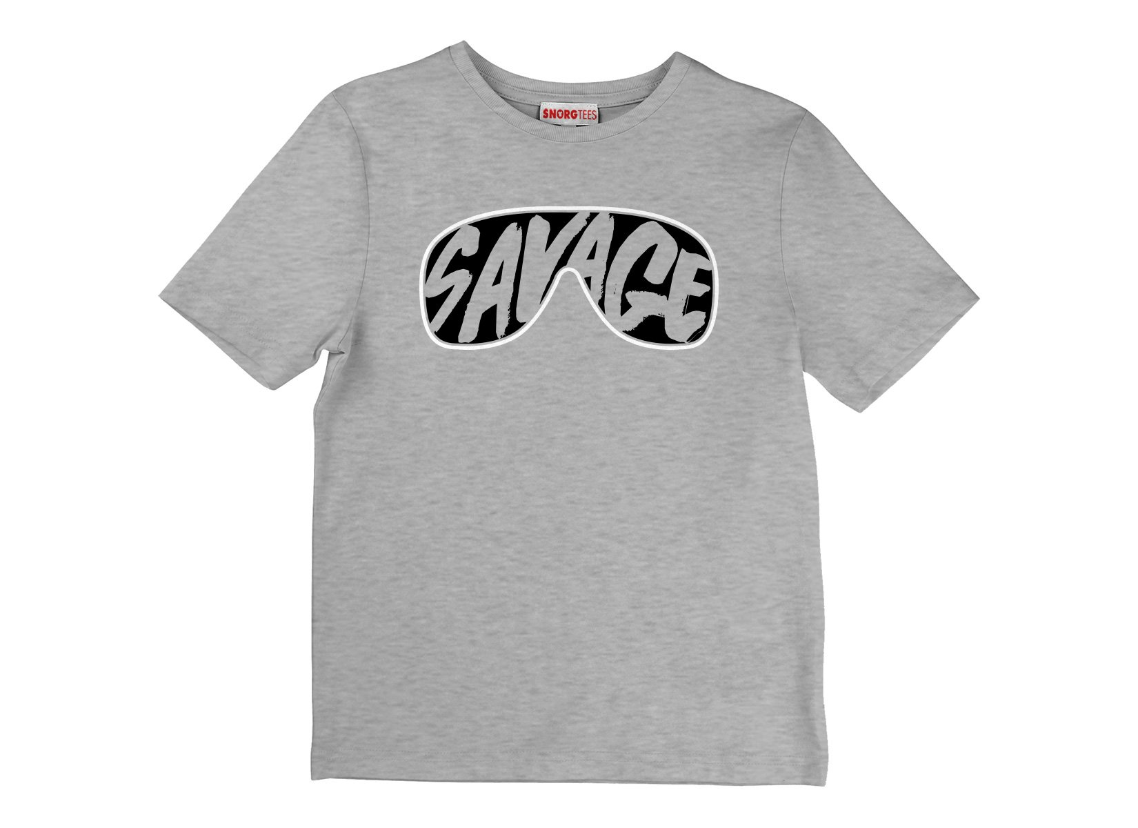 Savage Glasses on Kids T-Shirt