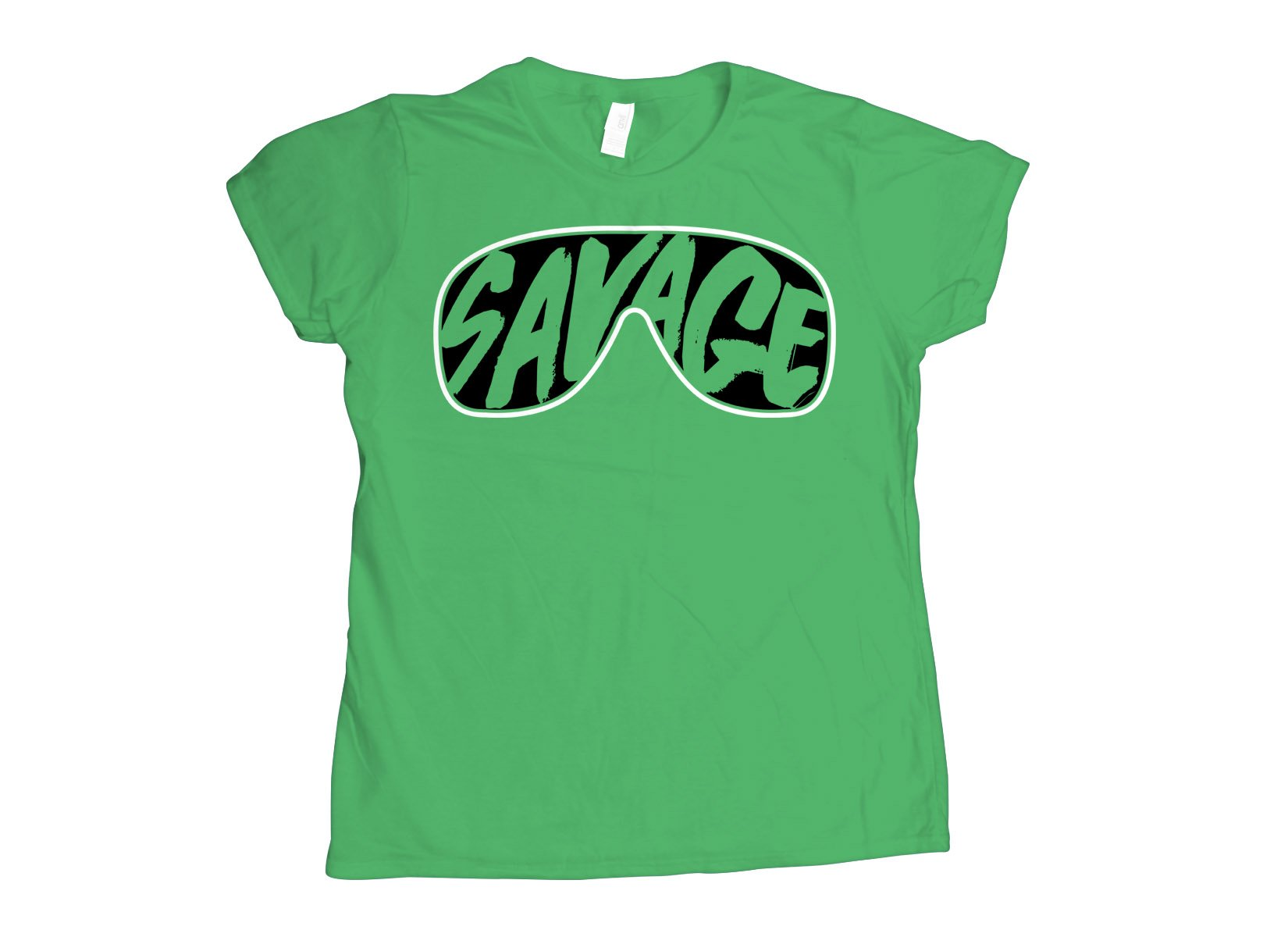 Savage Glasses on Womens T-Shirt