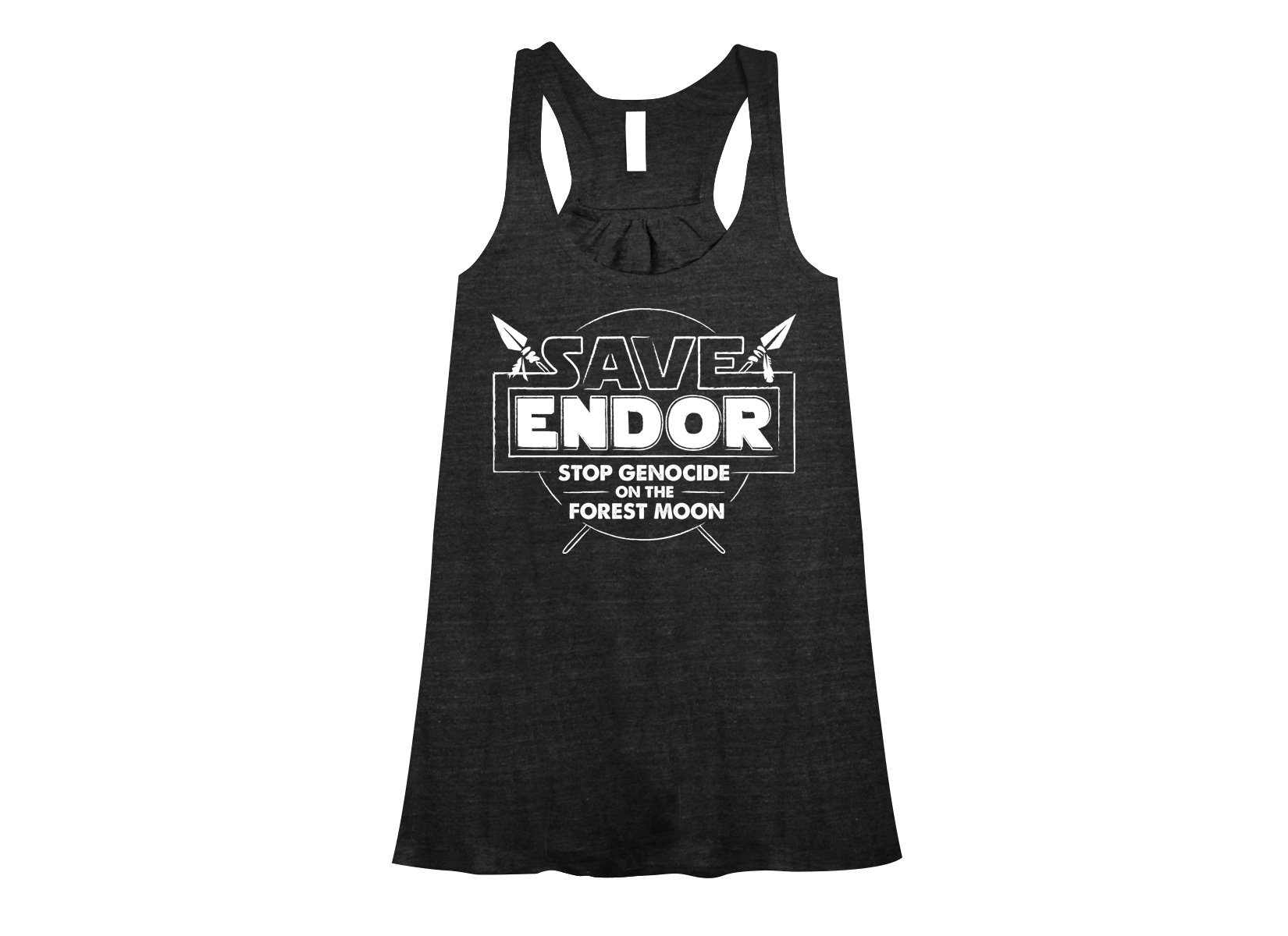 Save Endor on Womens Tanks T-Shirt