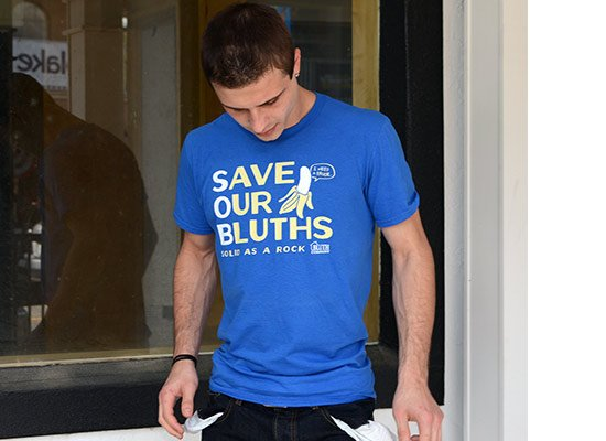 Save Our Bluths on Mens T-Shirt