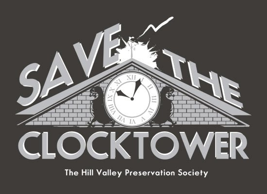 Save The Clocktower on Mens T-Shirt