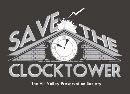 Save The Clocktower on Mens T-Shirt