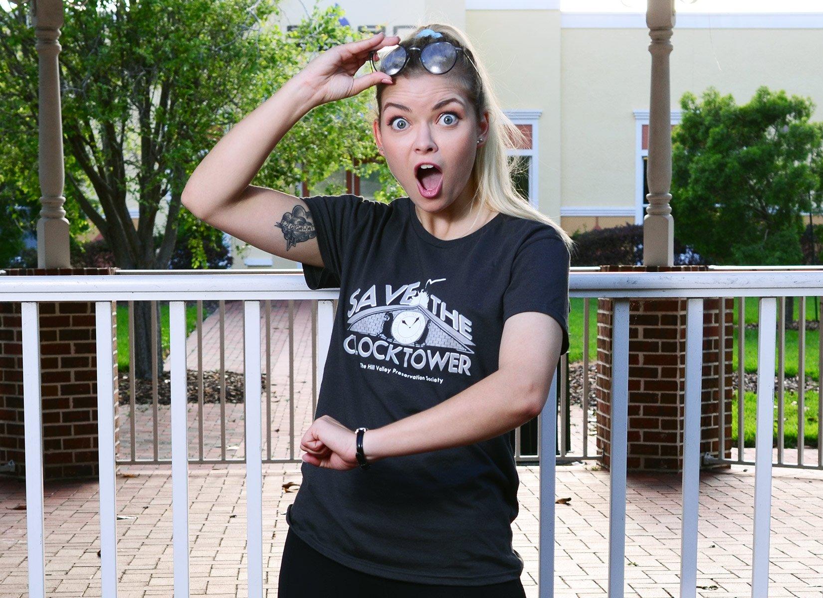 Save The Clocktower on Womens T-Shirt