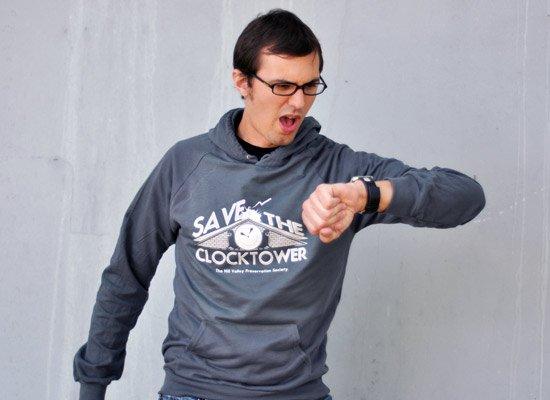 Save The Clocktower on Hoodie