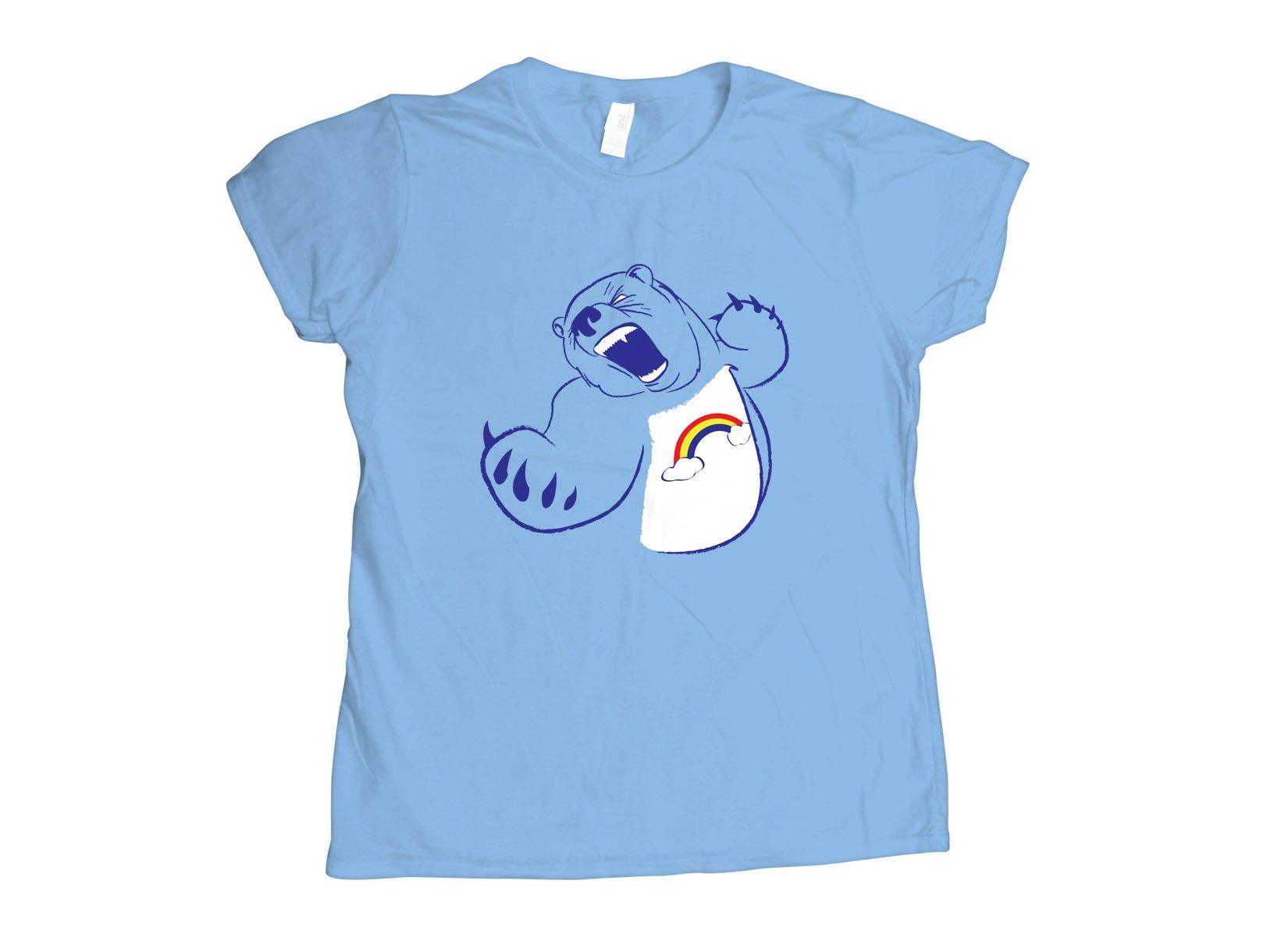 Scarebear on Womens T-Shirt