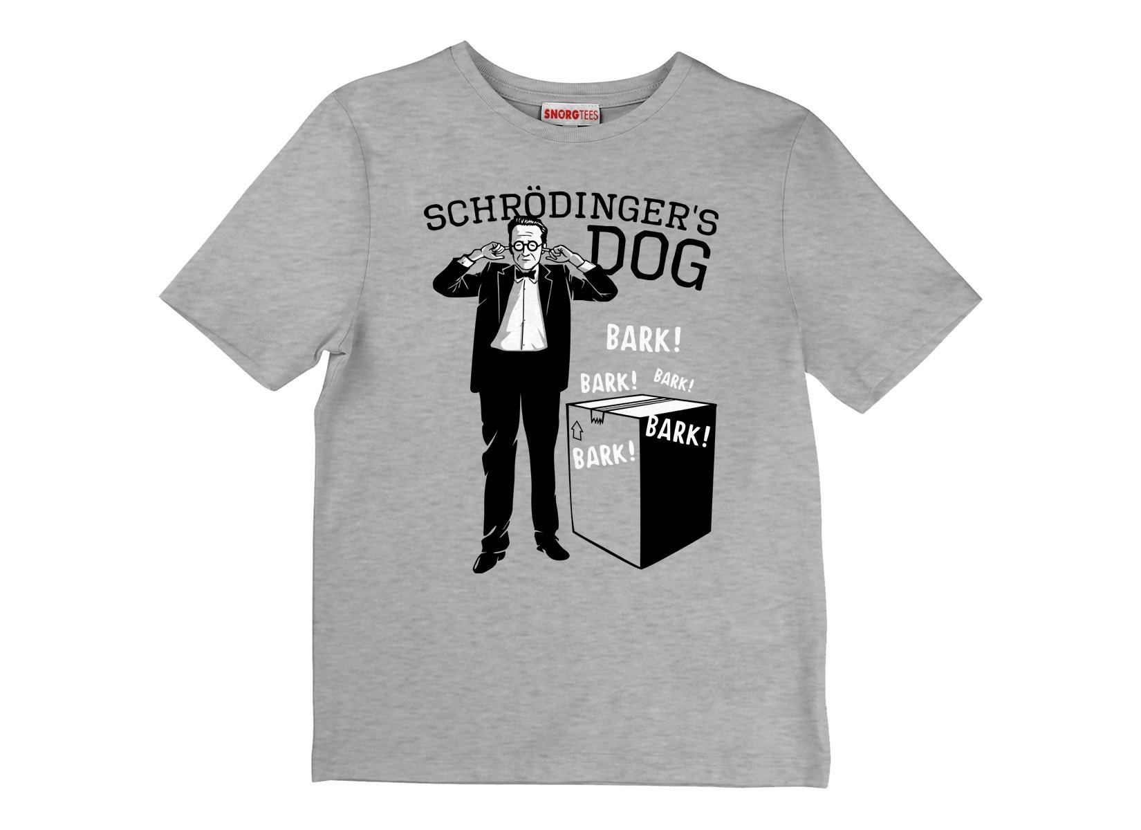 Schrodinger's Dog on Kids T-Shirt
