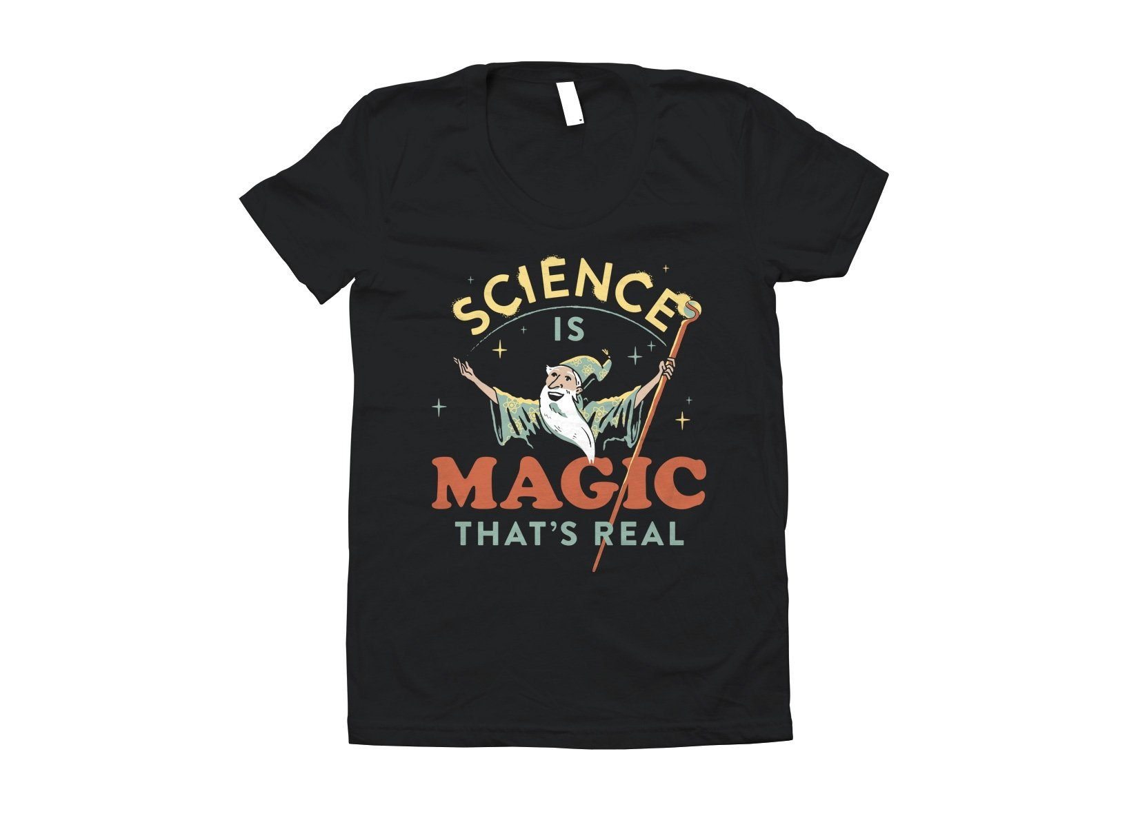 Science Is Magic That's Real on Juniors T-Shirt