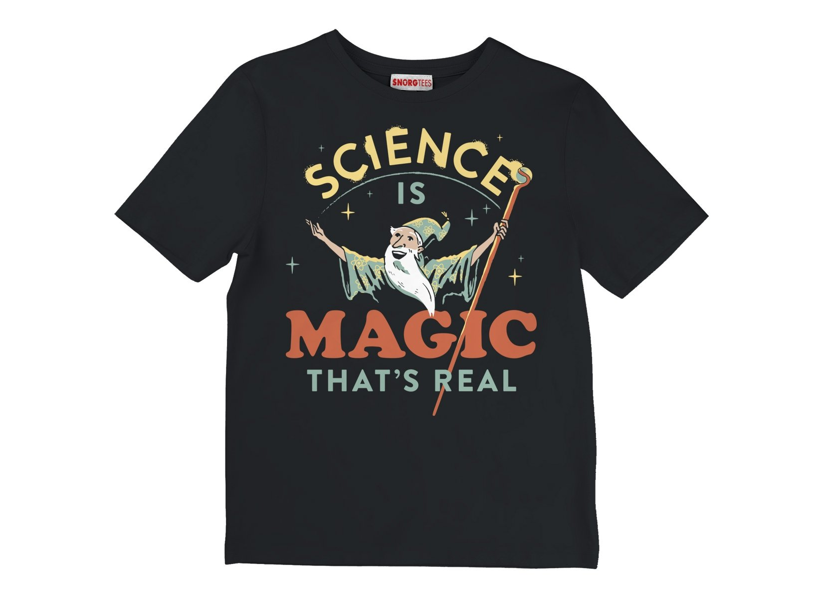 Science Is Magic That's Real on Kids T-Shirt