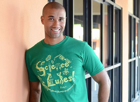 Science Rules! on Mens T-Shirt