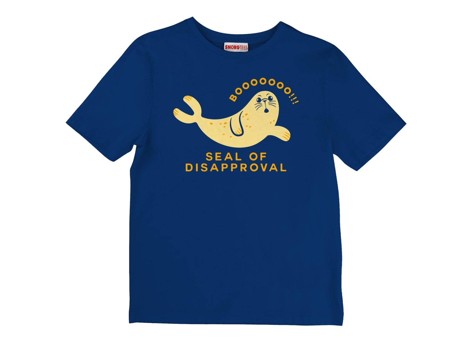 Seal Of Disapproval on Kids T-Shirt
