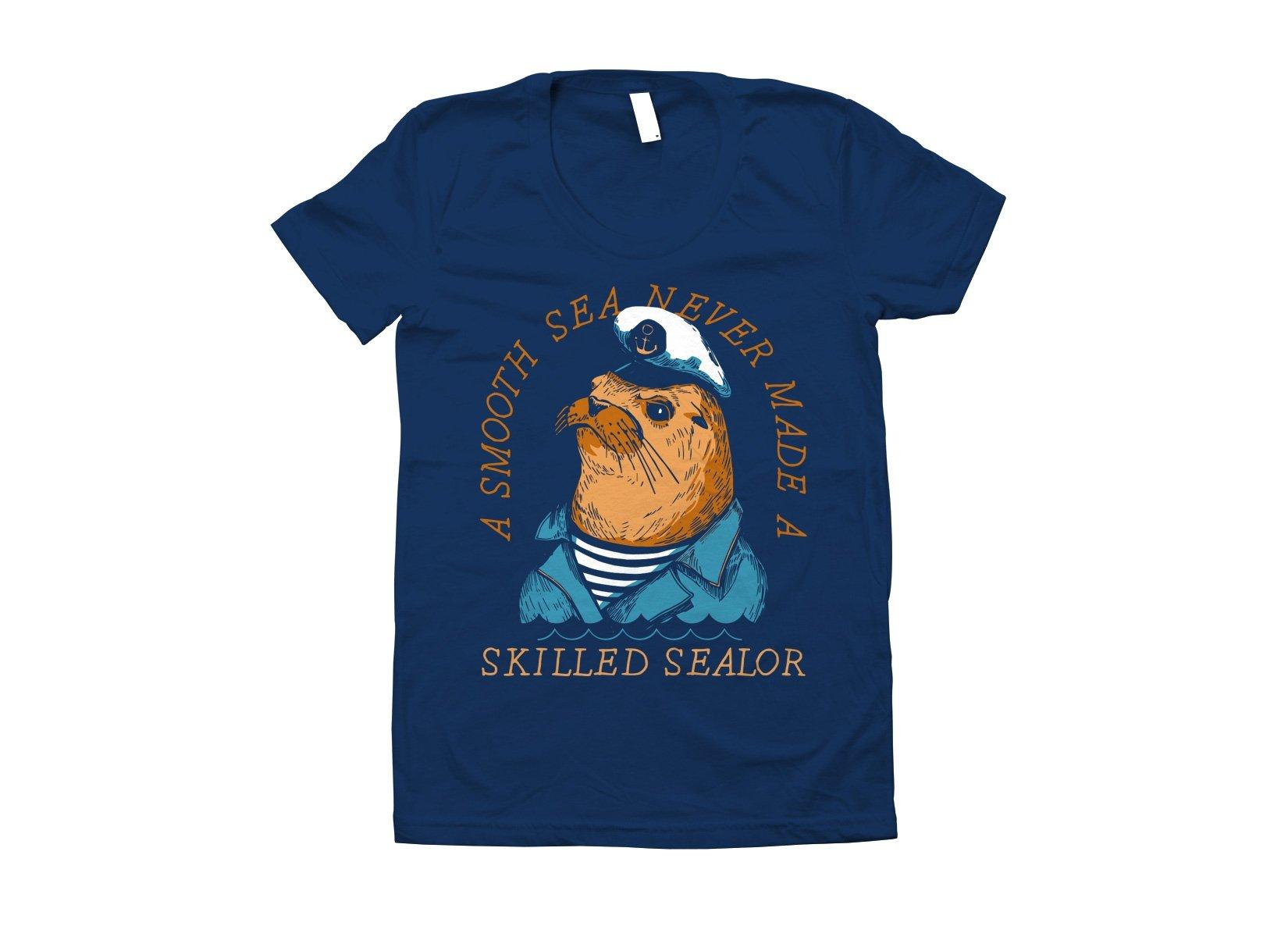Skilled Sealor on Juniors T-Shirt