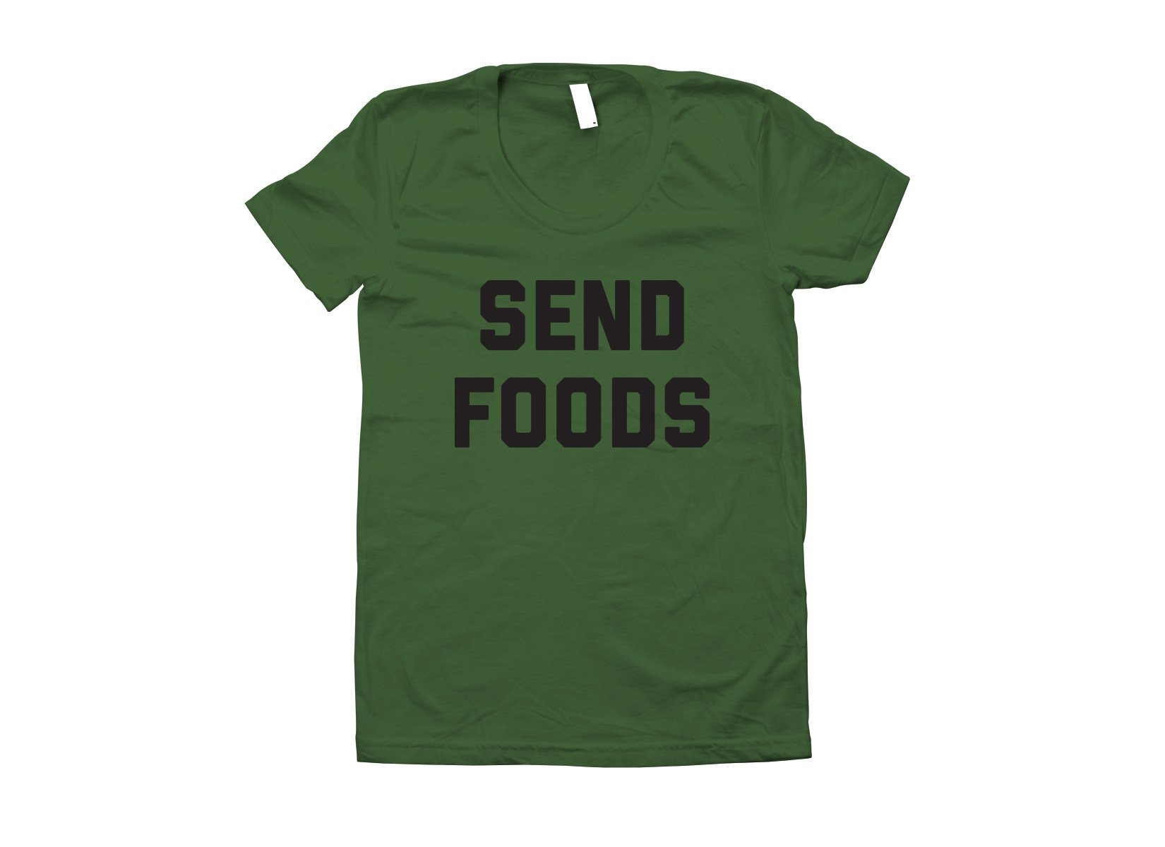 Send Foods on Juniors T-Shirt