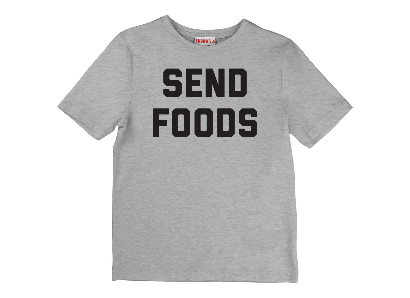 Send Foods on Kids T-Shirt