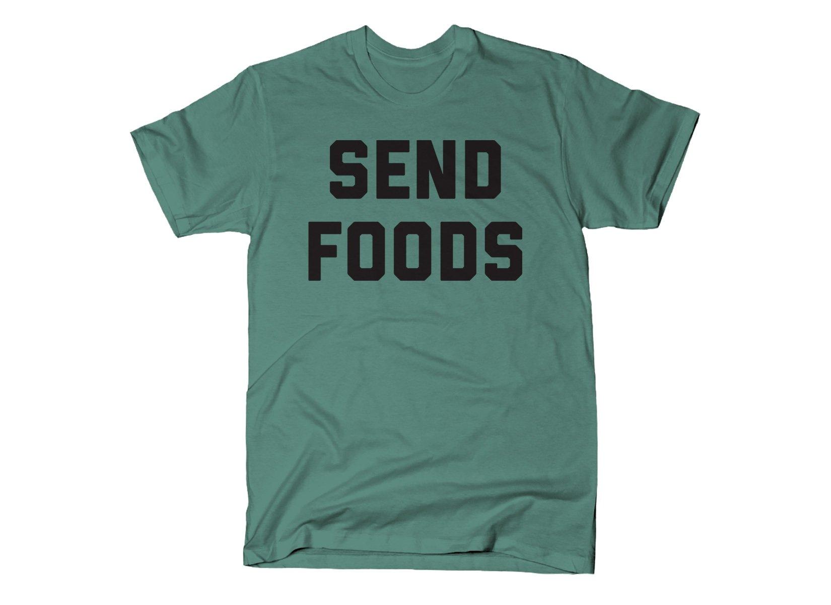 Send Foods on Mens T-Shirt