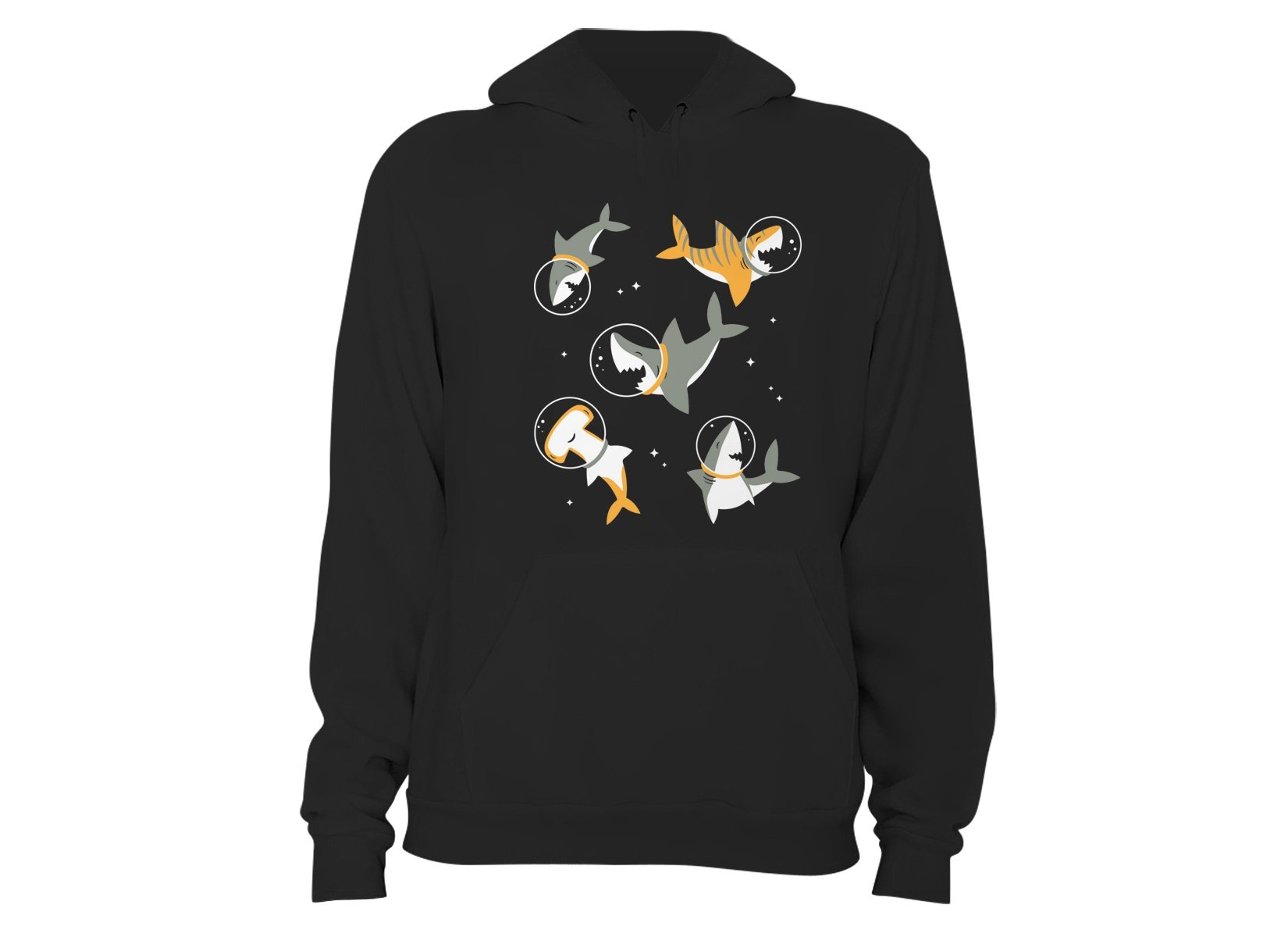 Sharks In Space on Hoodie