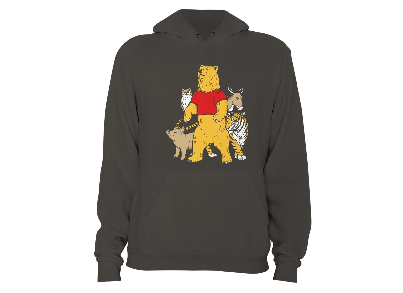 Bear And Friends on Hoodie