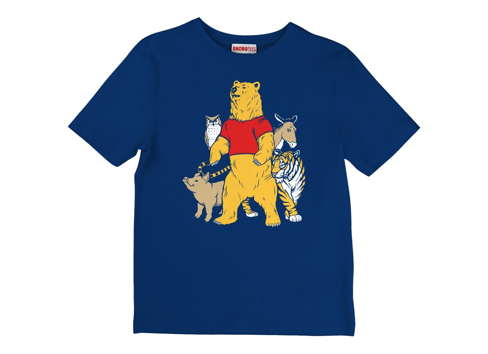 Bear And Friends on Kids T-Shirt