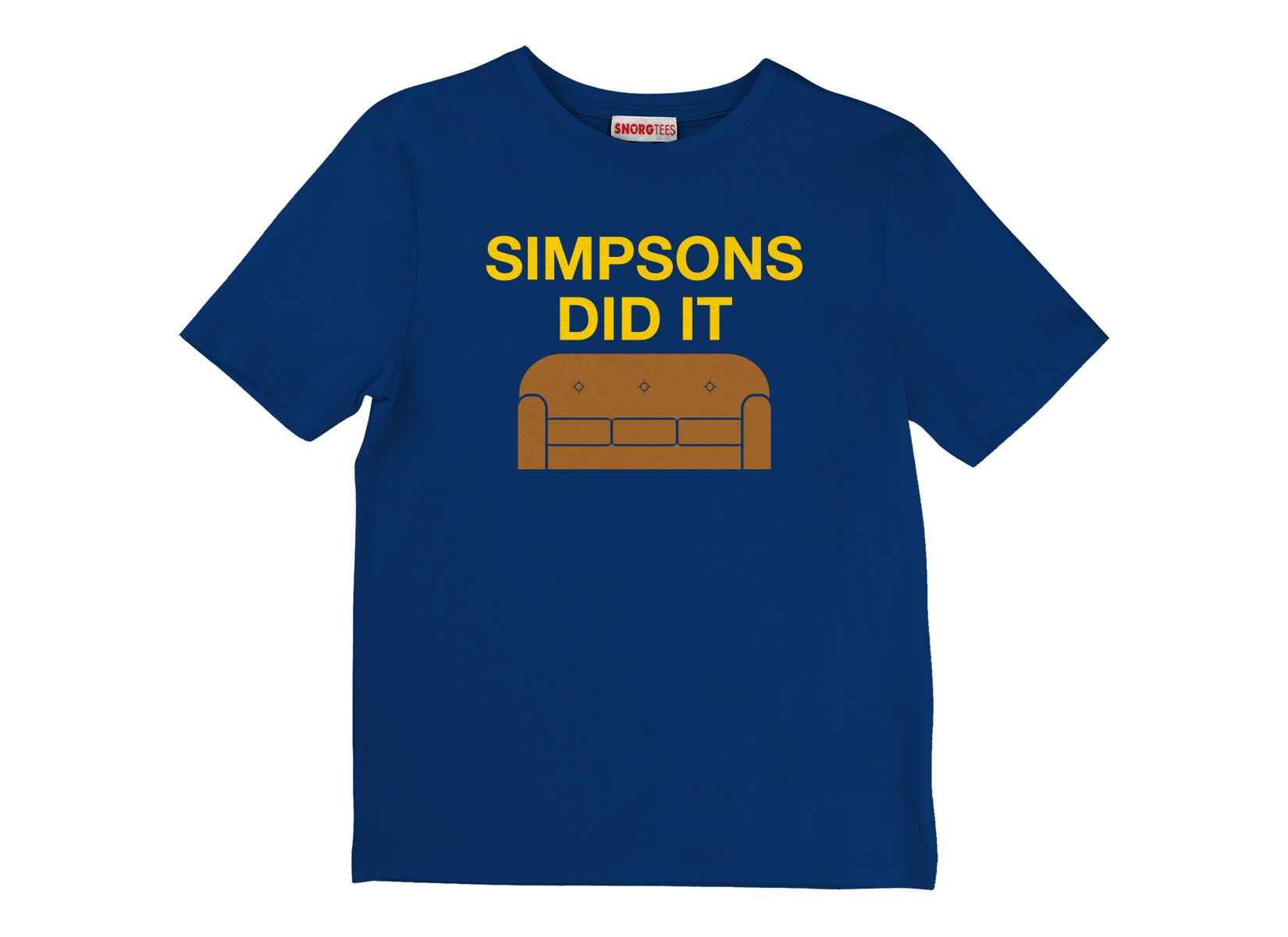 Simpsons Did It on Kids T-Shirt
