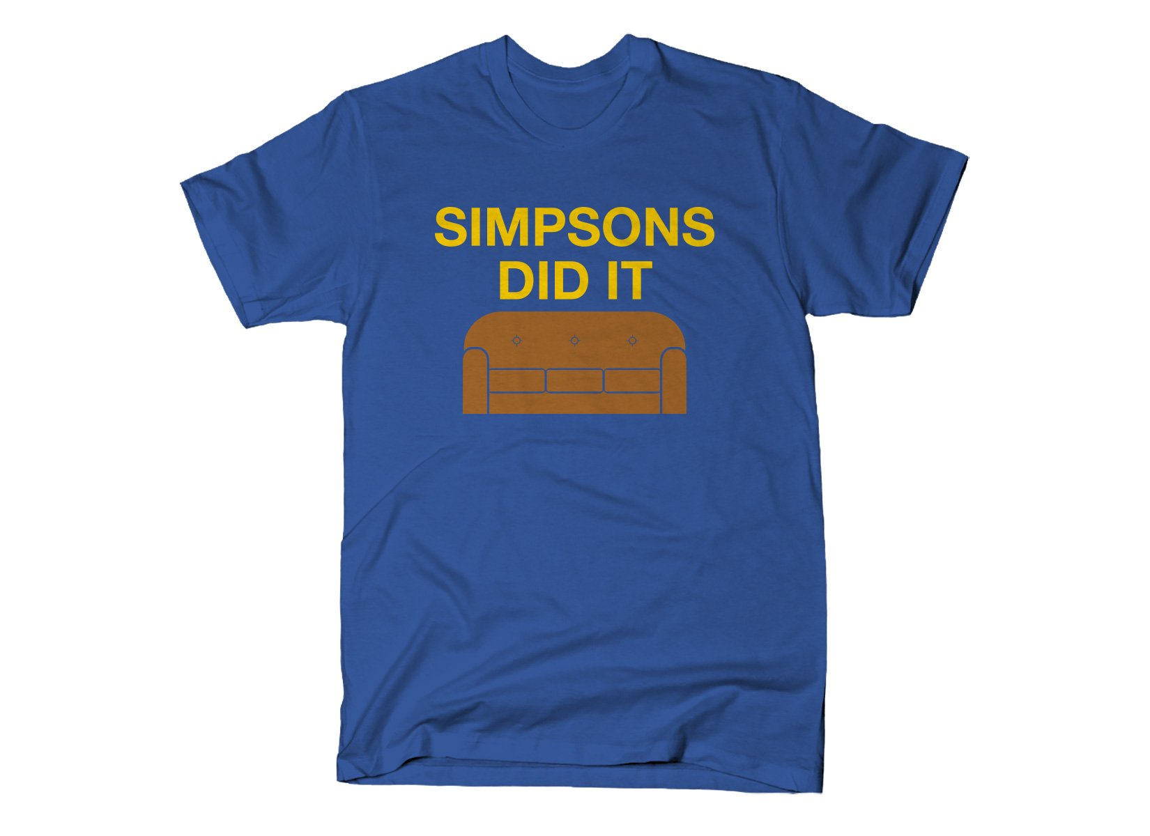 Simpsons Did It on Mens T-Shirt