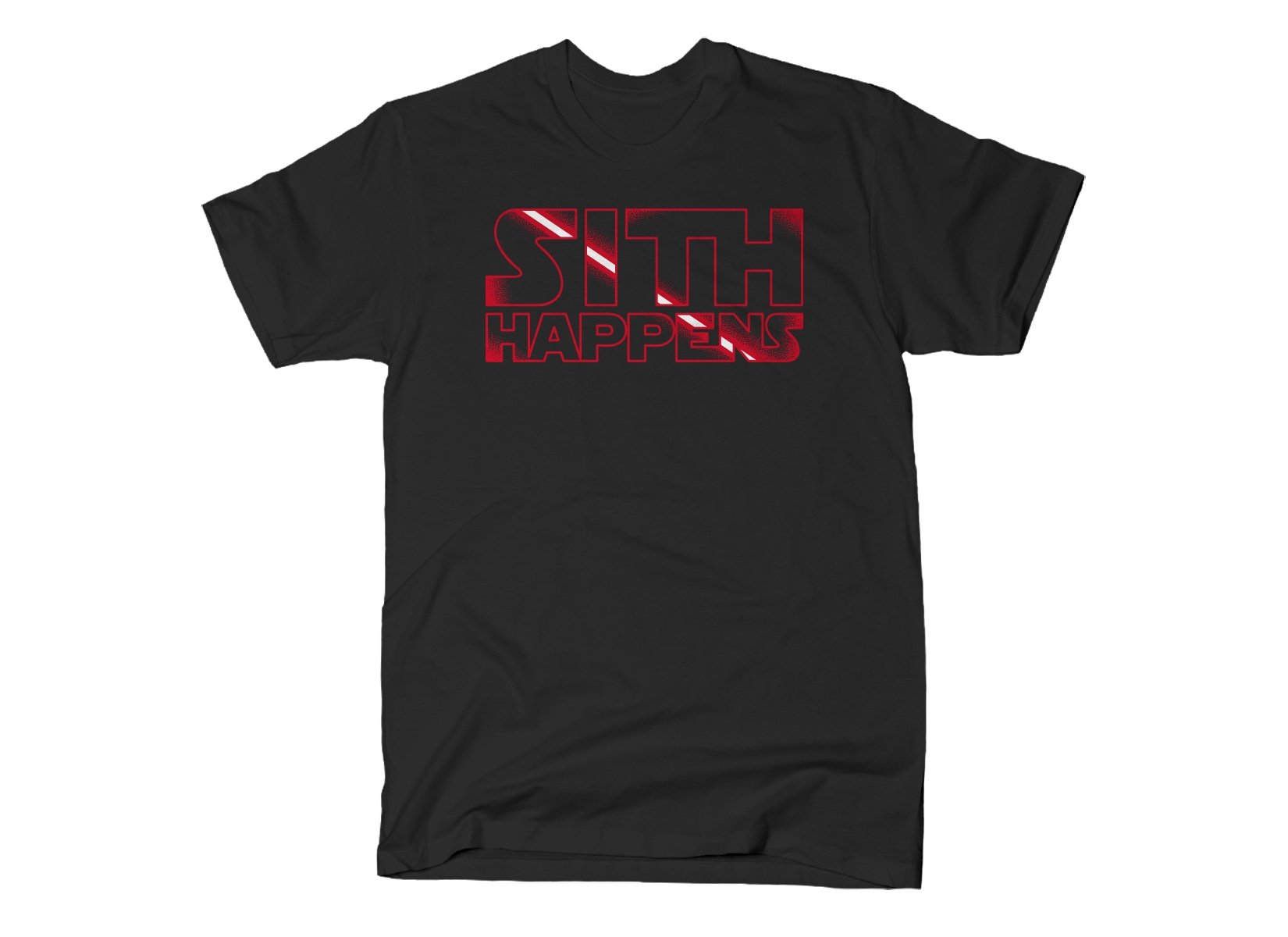 Sith Happens on Mens T-Shirt