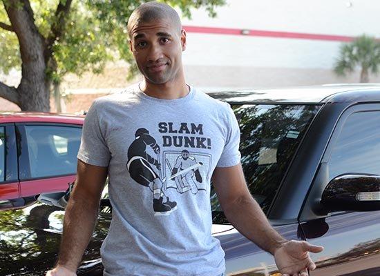 Slam Dunk! on Mens T-Shirt