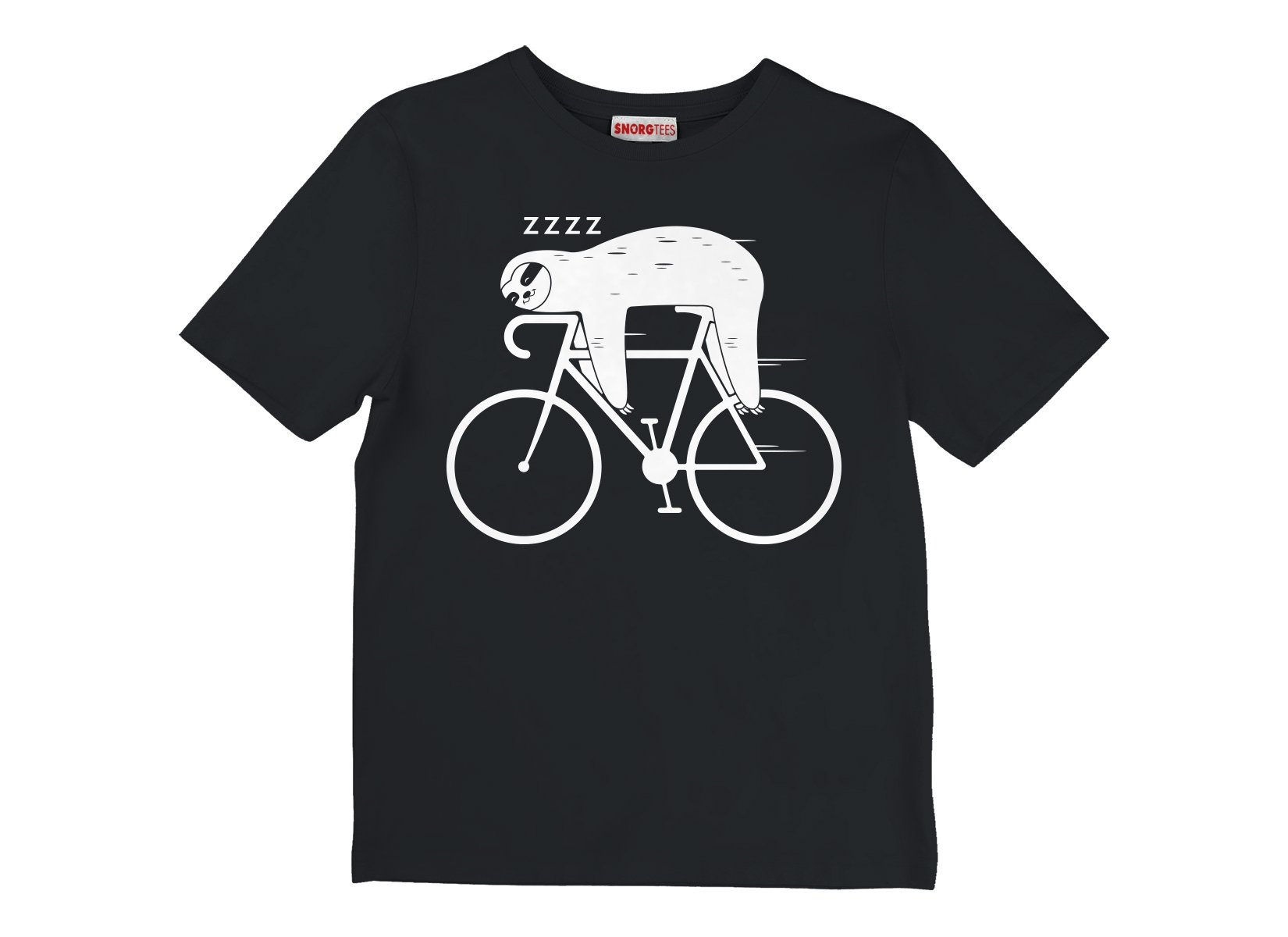 Slow Rider on Kids T-Shirt