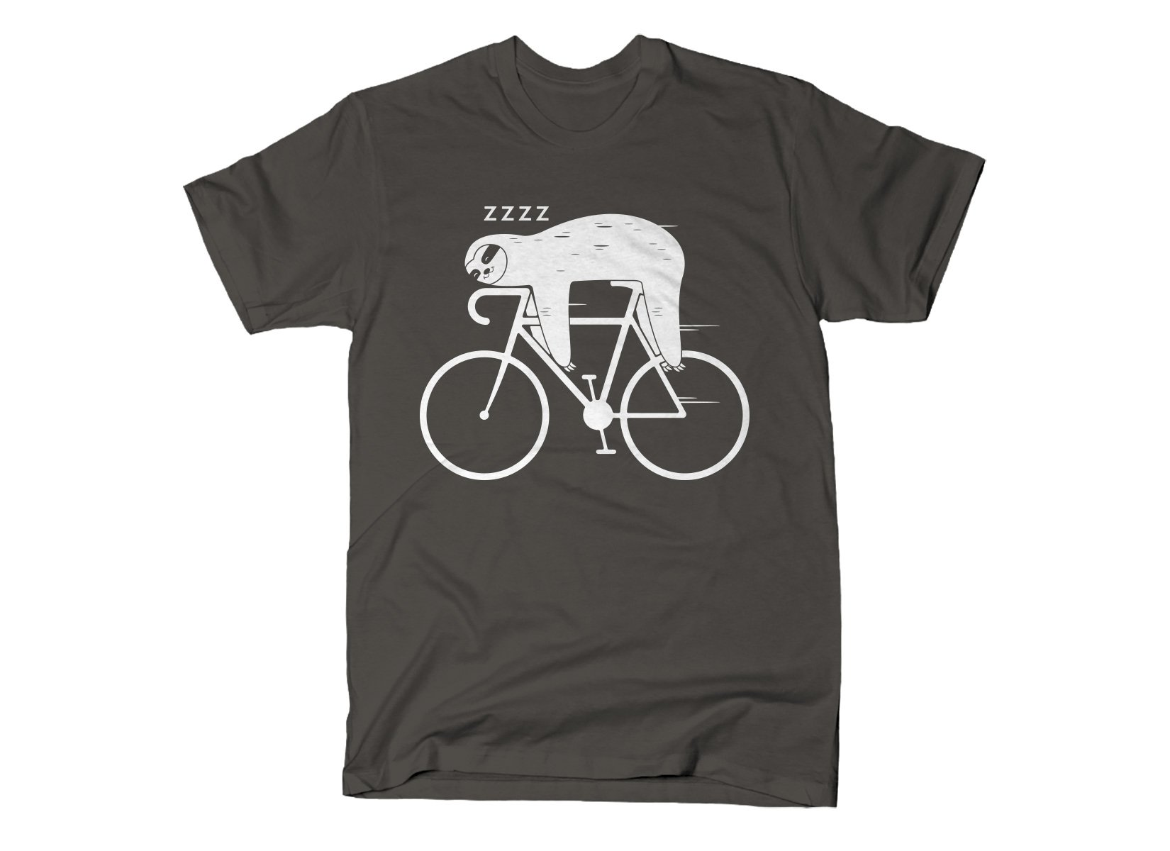 Slow Rider on Mens T-Shirt