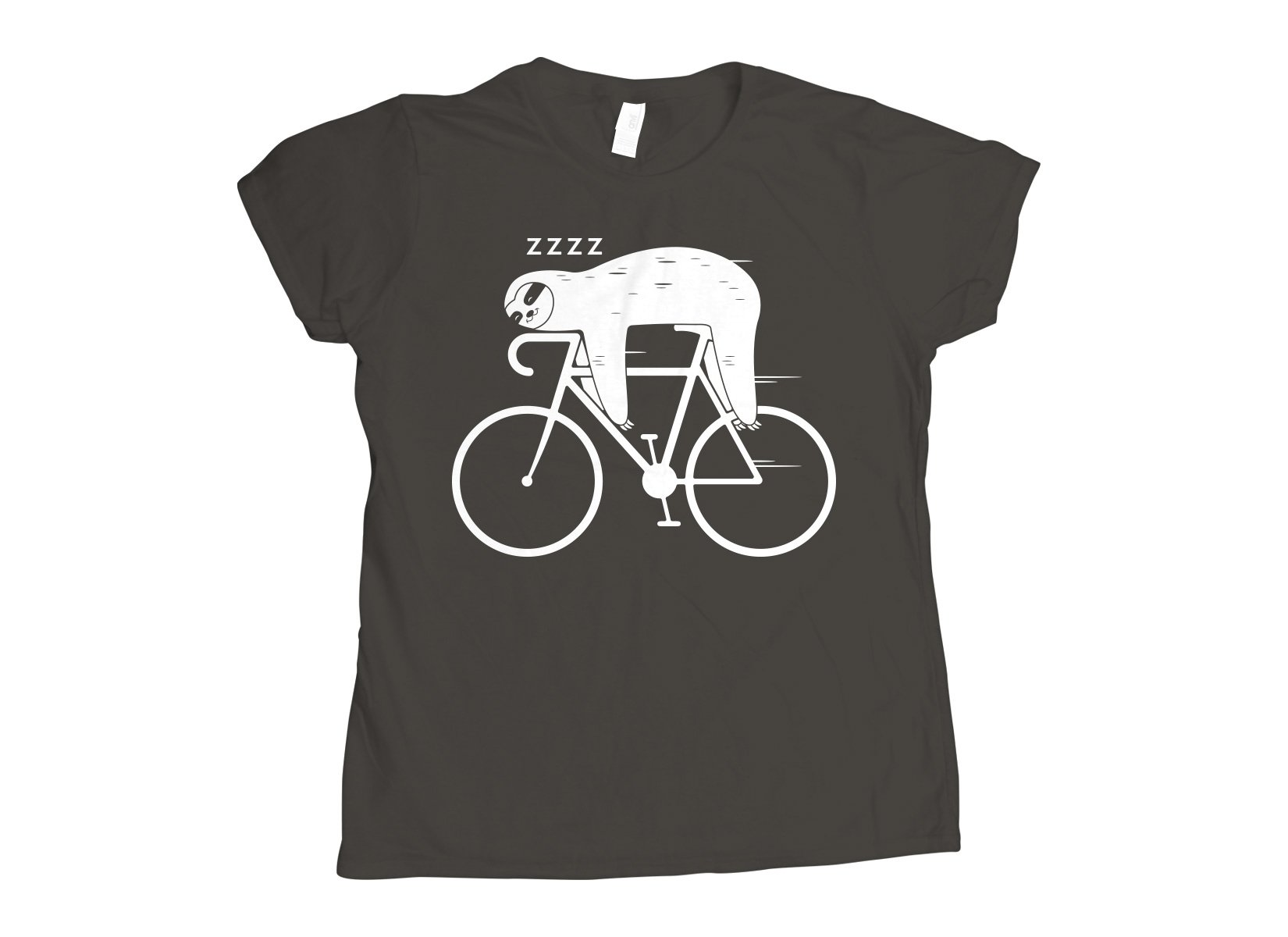 Slow Rider on Womens T-Shirt