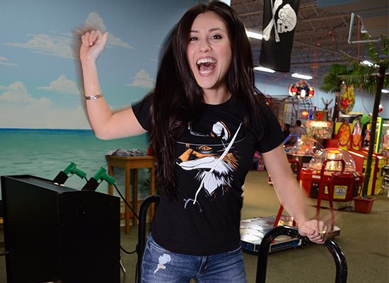 The Fox on Juniors T-Shirt