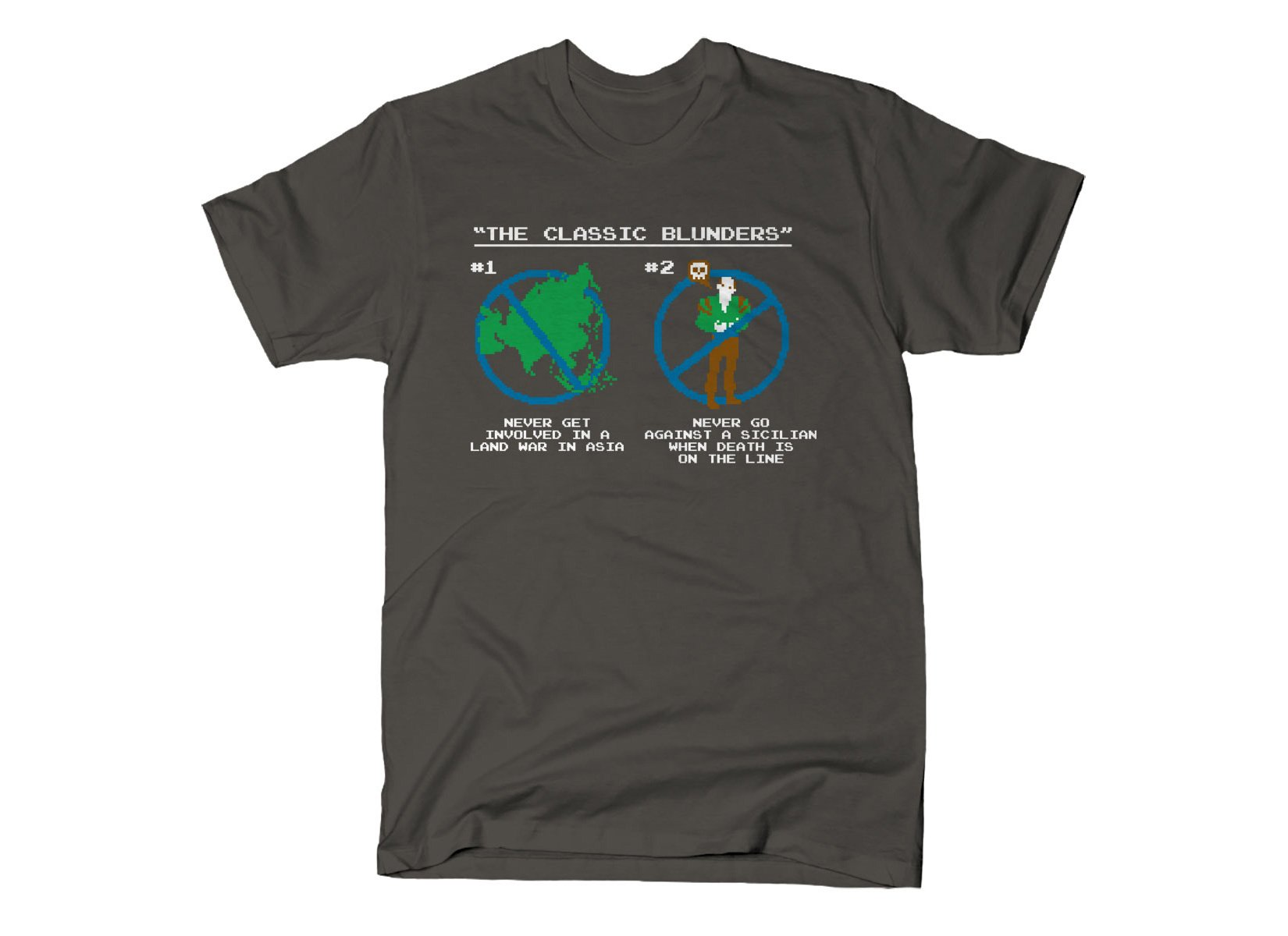 The Classic Blunders on Mens T-Shirt