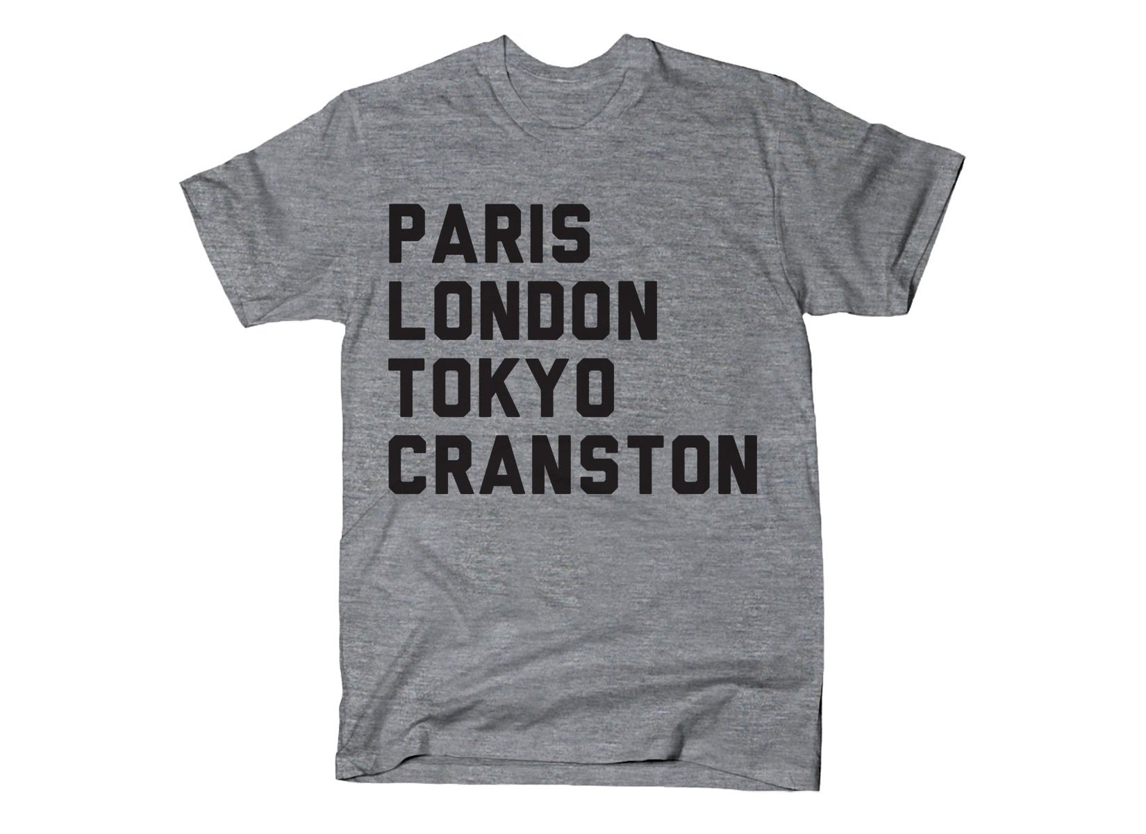 Cranston on Mens T-Shirt