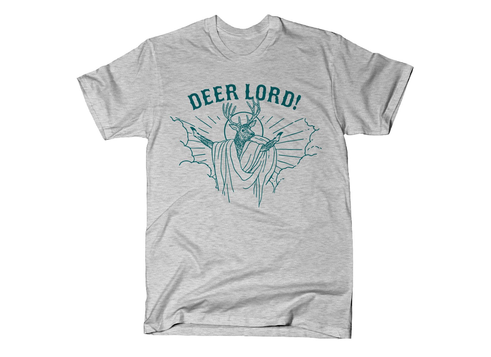 Deer Lord on Mens T-Shirt