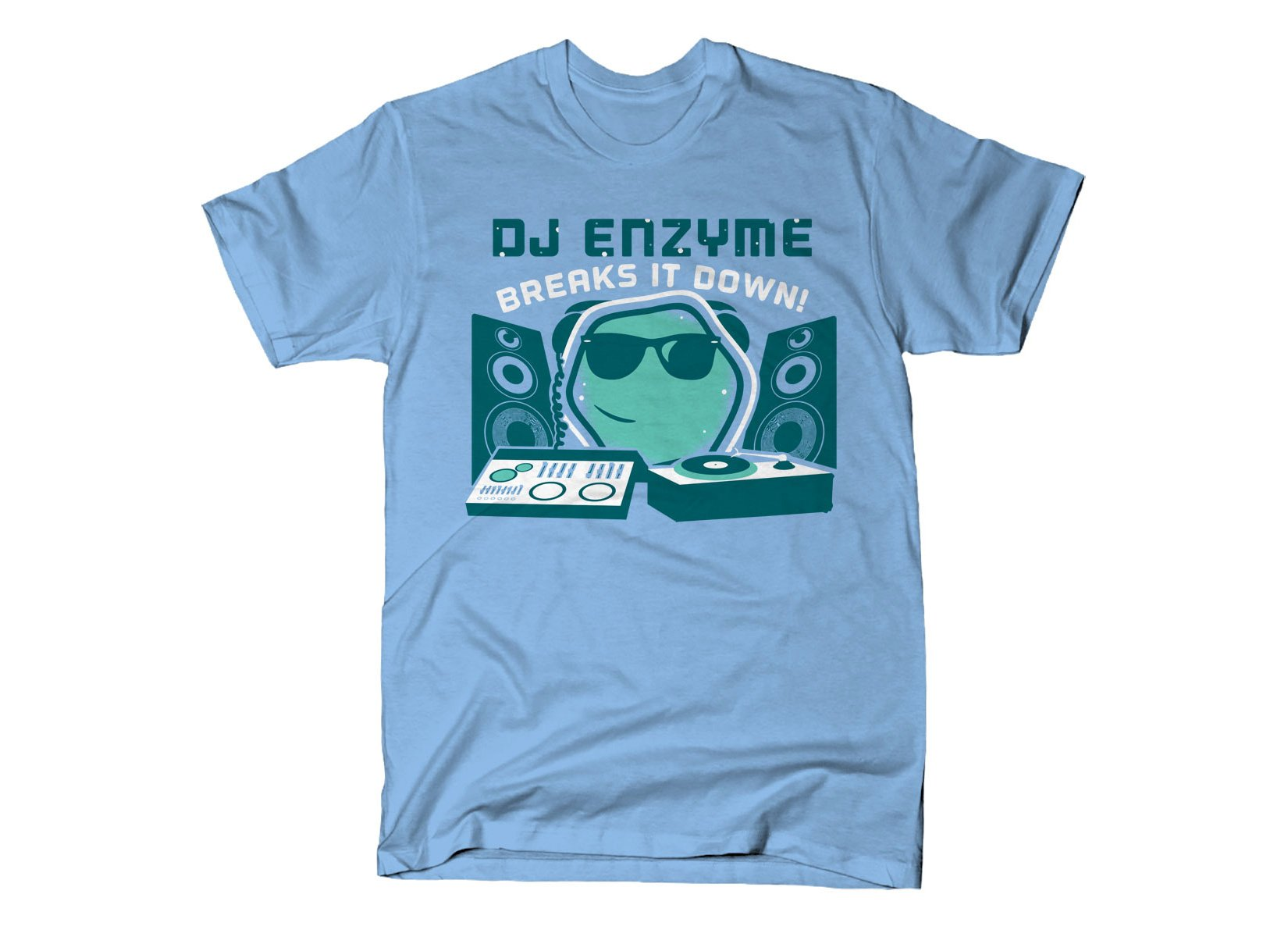 DJ Enzyme on Mens T-Shirt
