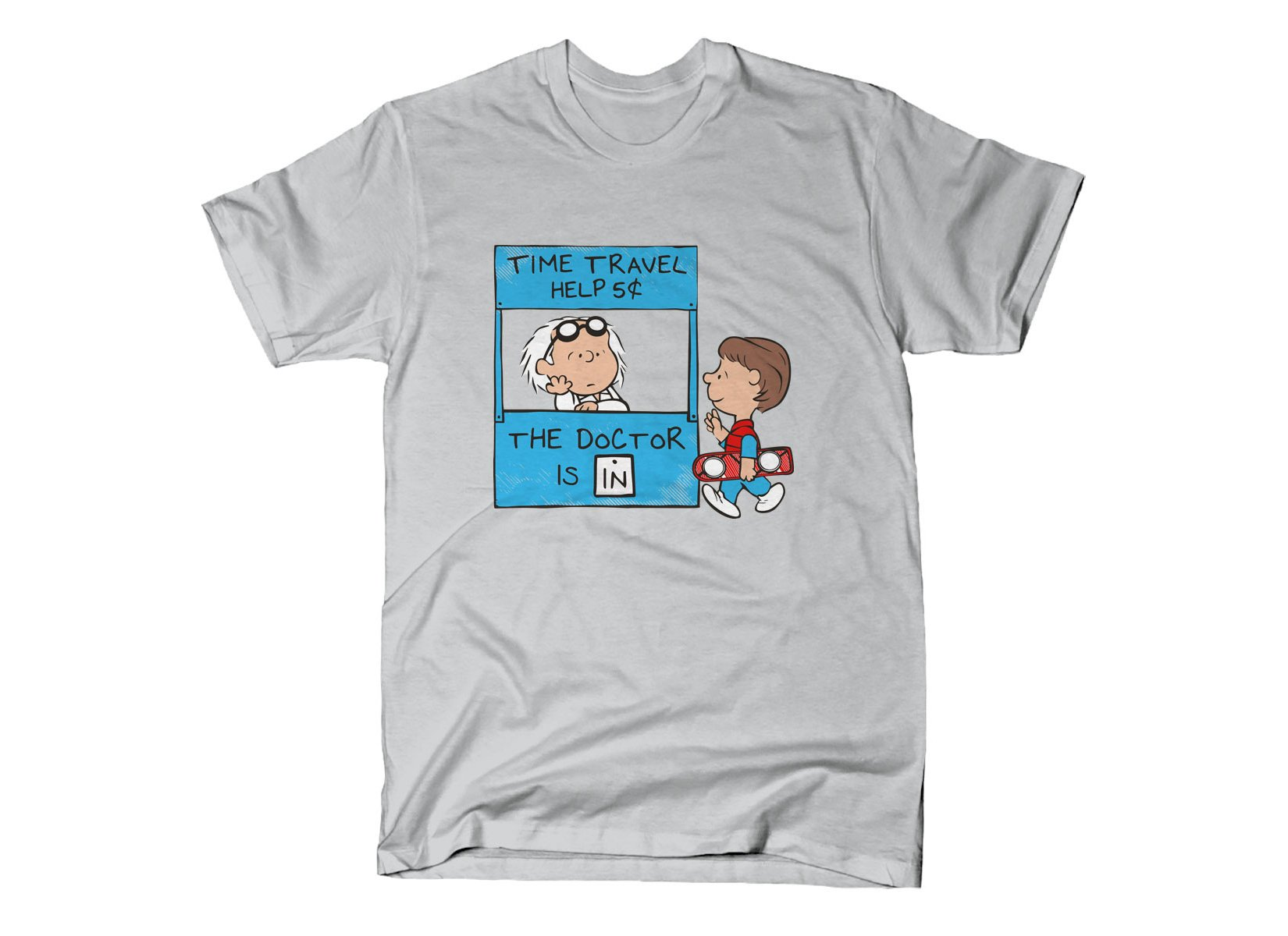 The Doctor Is In on Mens T-Shirt