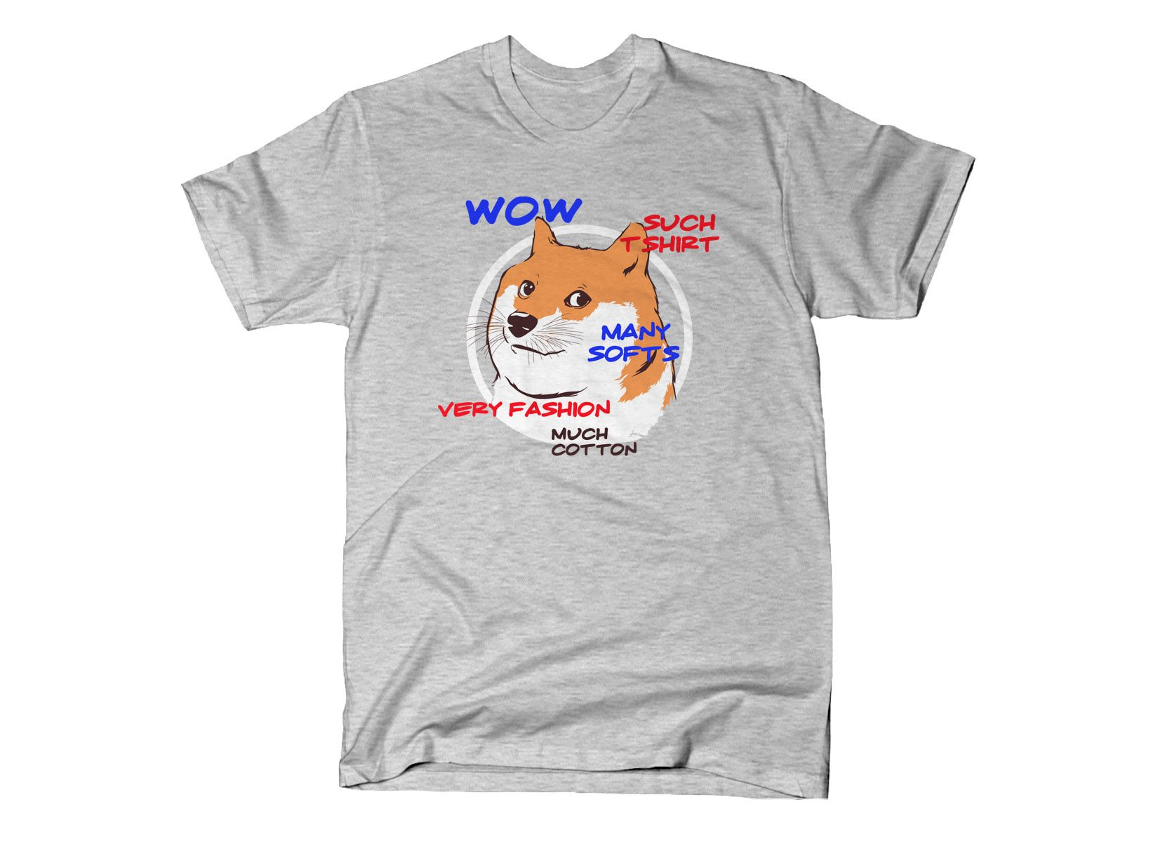 Doge Shirt on Mens T-Shirt