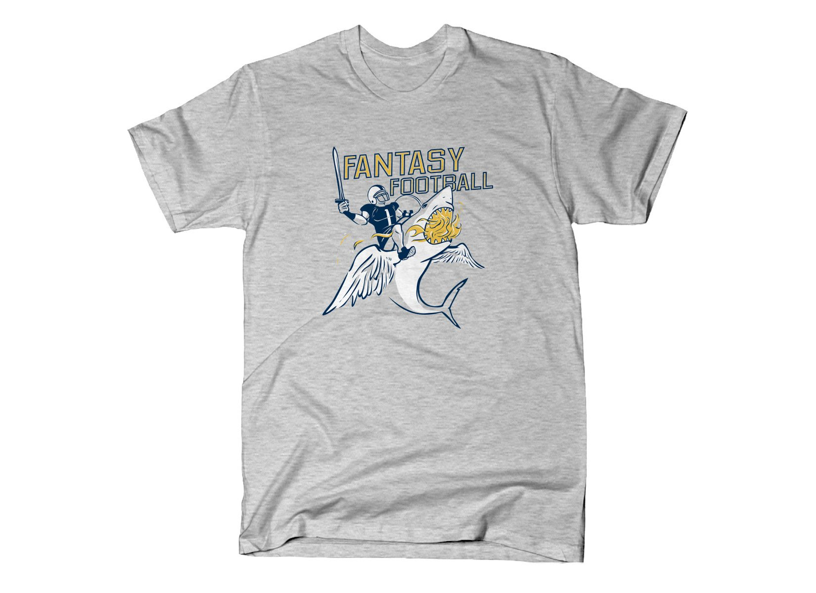 Fantasy Football on Mens T-Shirt