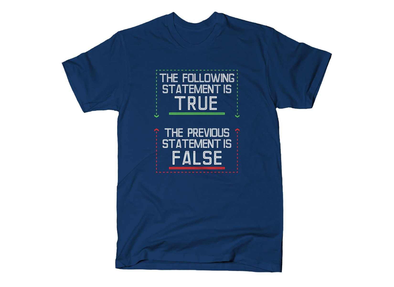 The Following Statement Is True on Mens T-Shirt