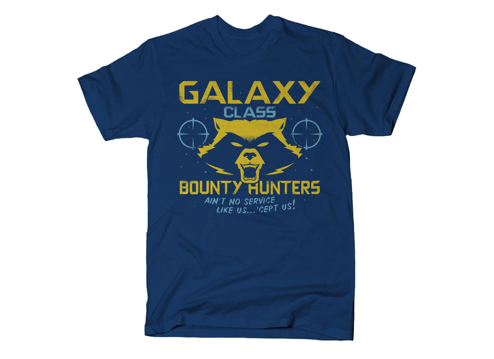 Galaxy Class Bounty Hunters on Mens T-Shirt