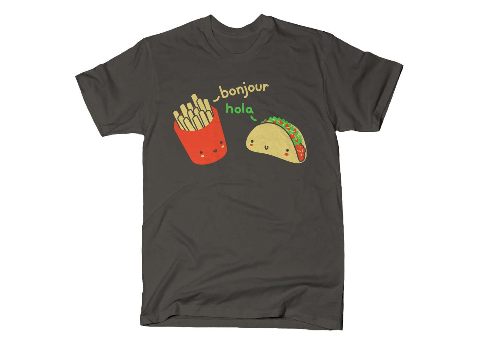 Hola Taco on Mens T-Shirt