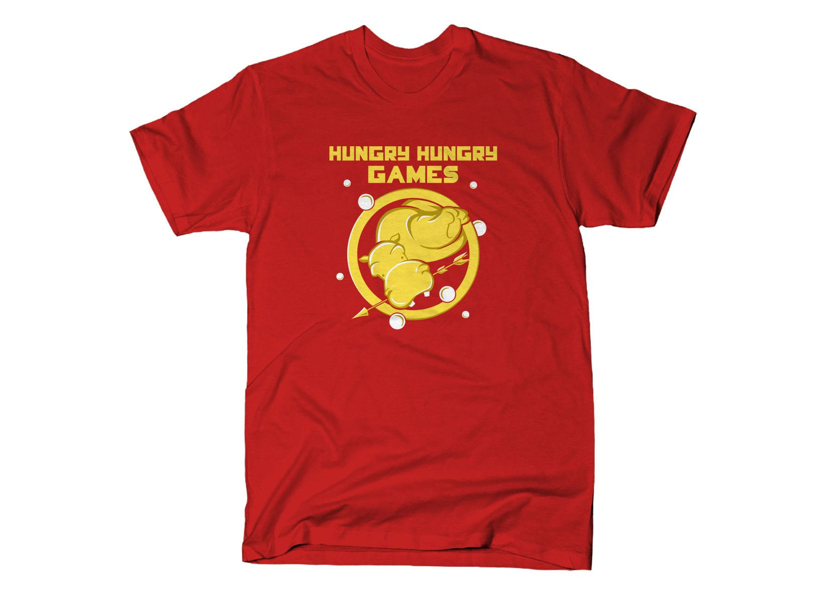 Hungry Hungry Games on Mens T-Shirt