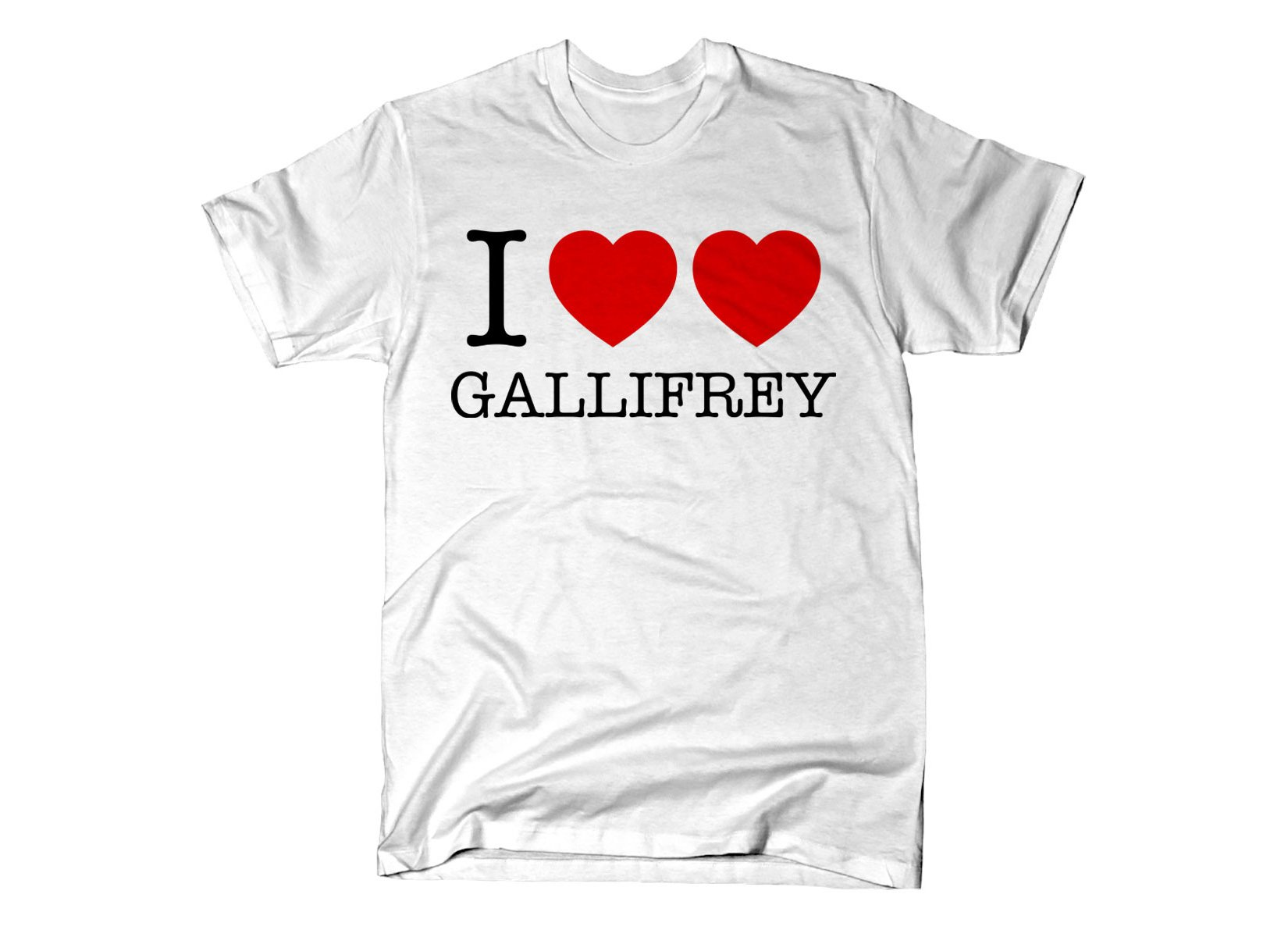 I Heart Heart Gallifrey on Mens T-Shirt