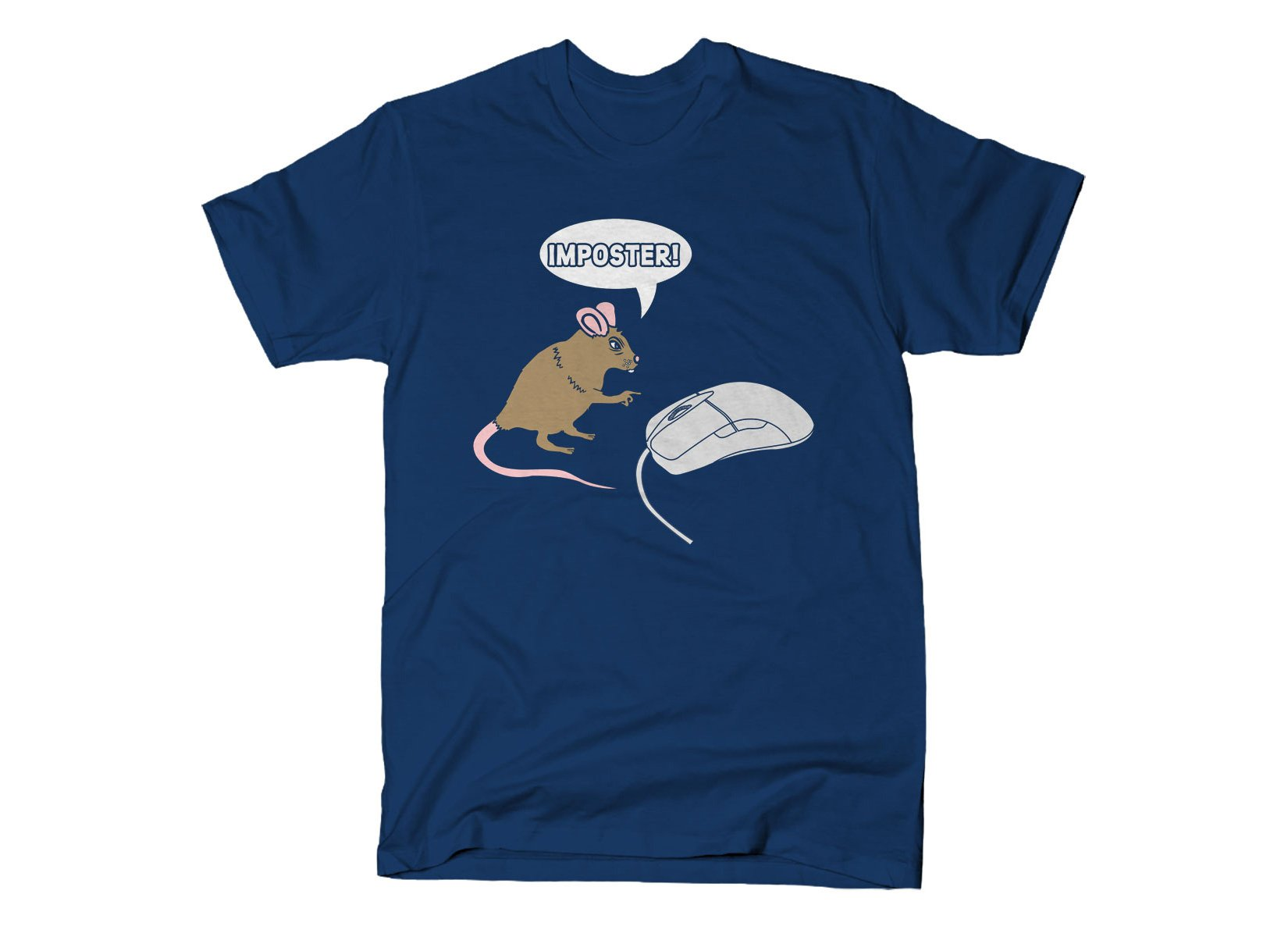 Imposter on Mens T-Shirt