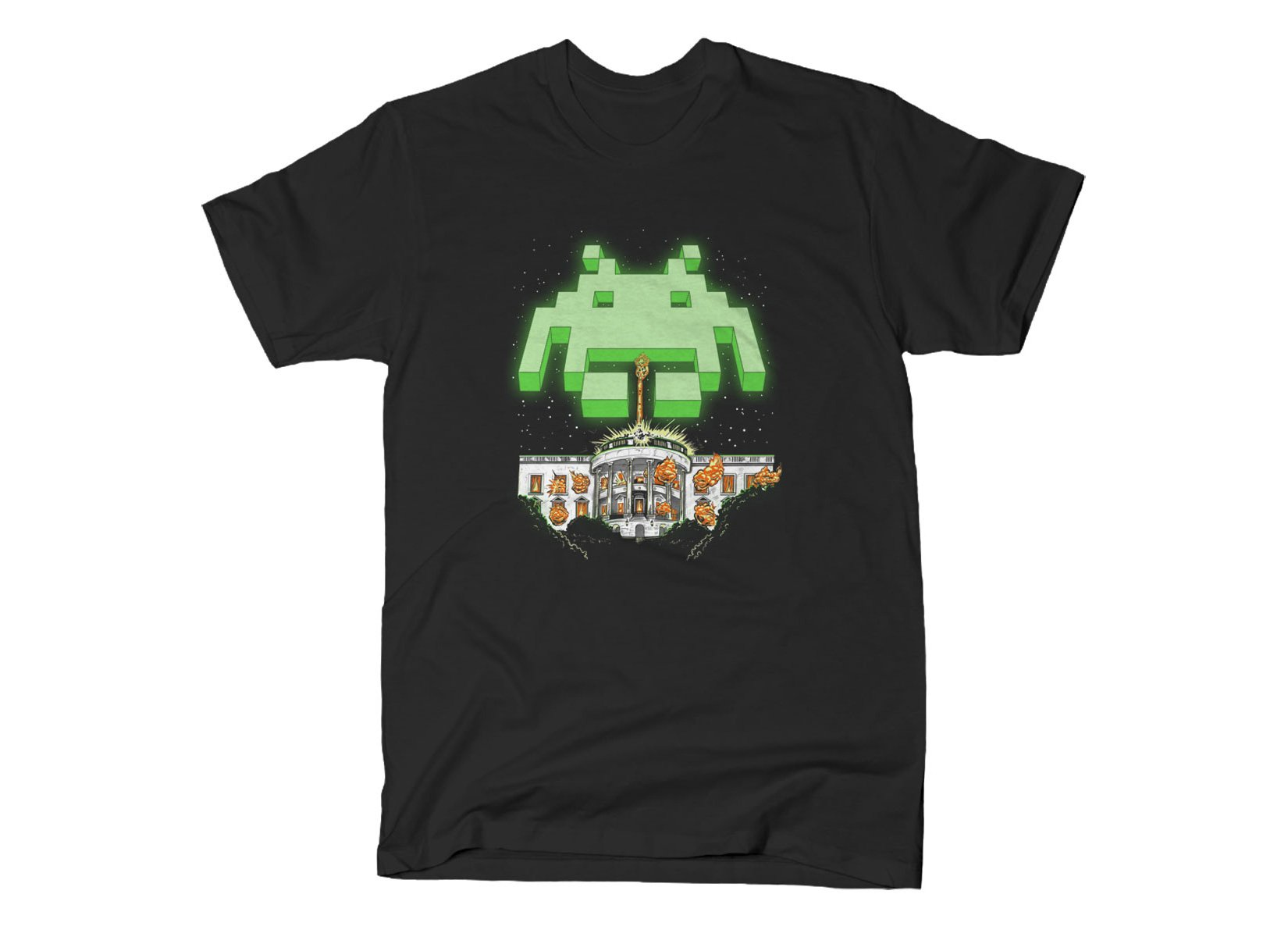 Invader Day on Mens T-Shirt