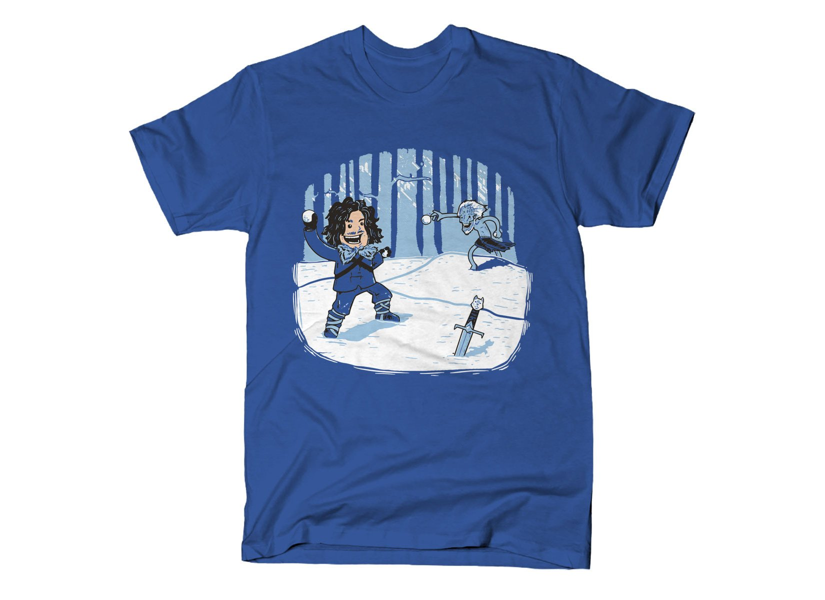 Jon Snowball on Mens T-Shirt