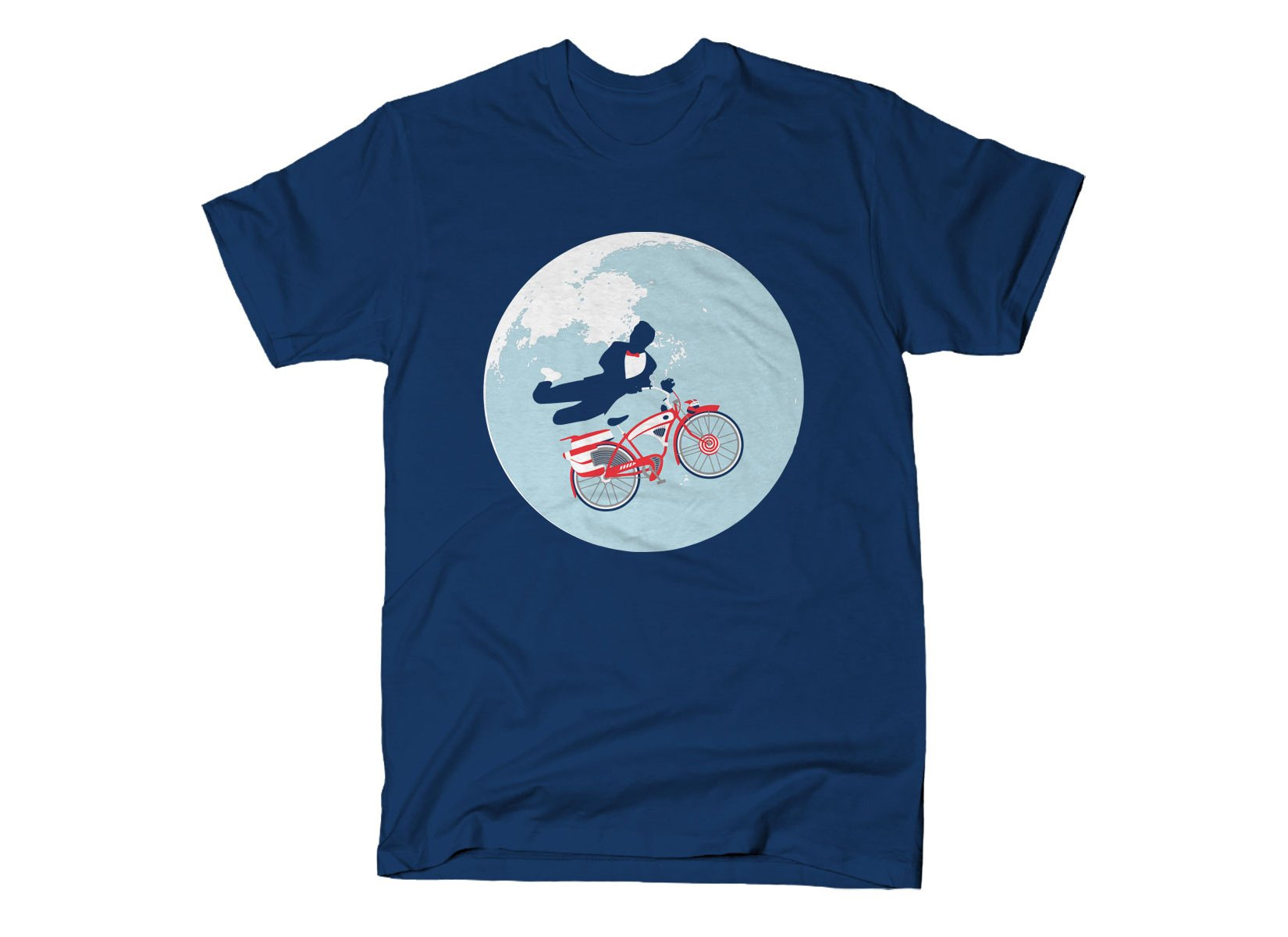 Jump The Moon on Mens T-Shirt