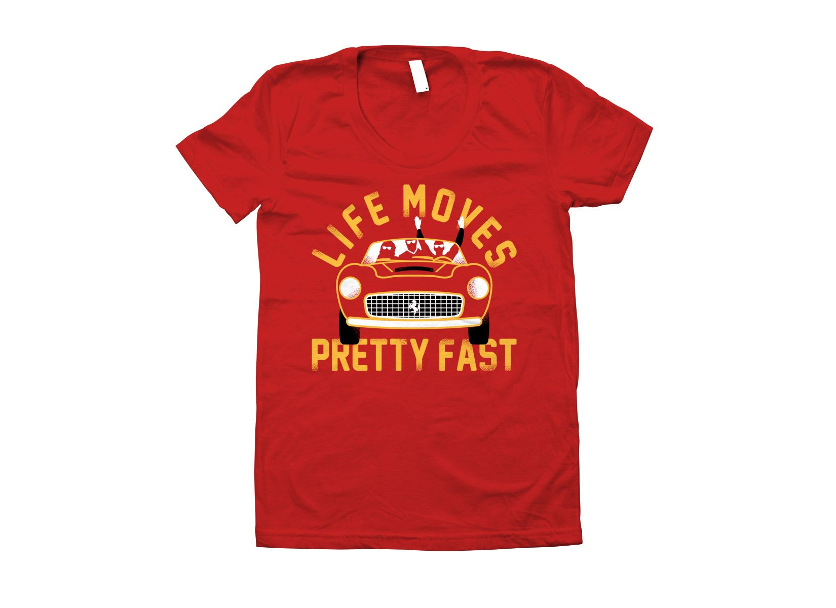 Life Moves Pretty Fast on Juniors T-Shirt