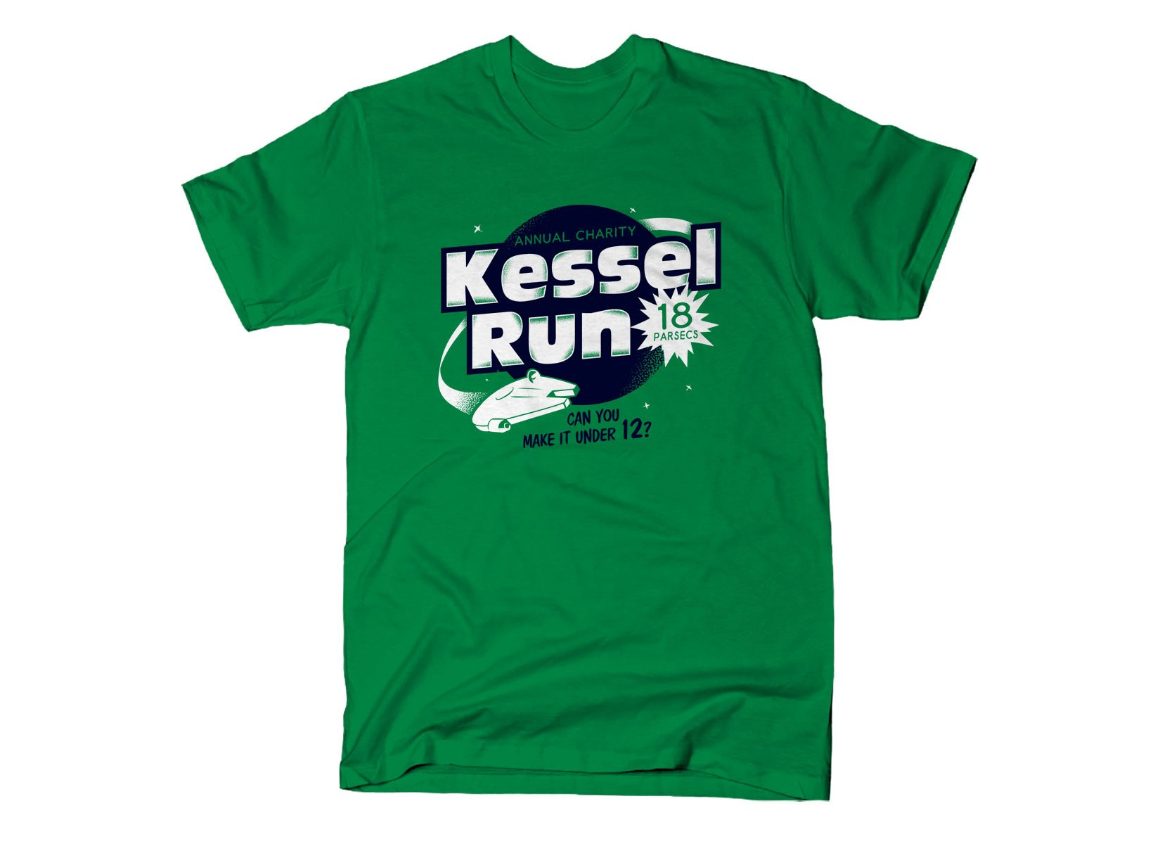 Kessel Run on Mens T-Shirt