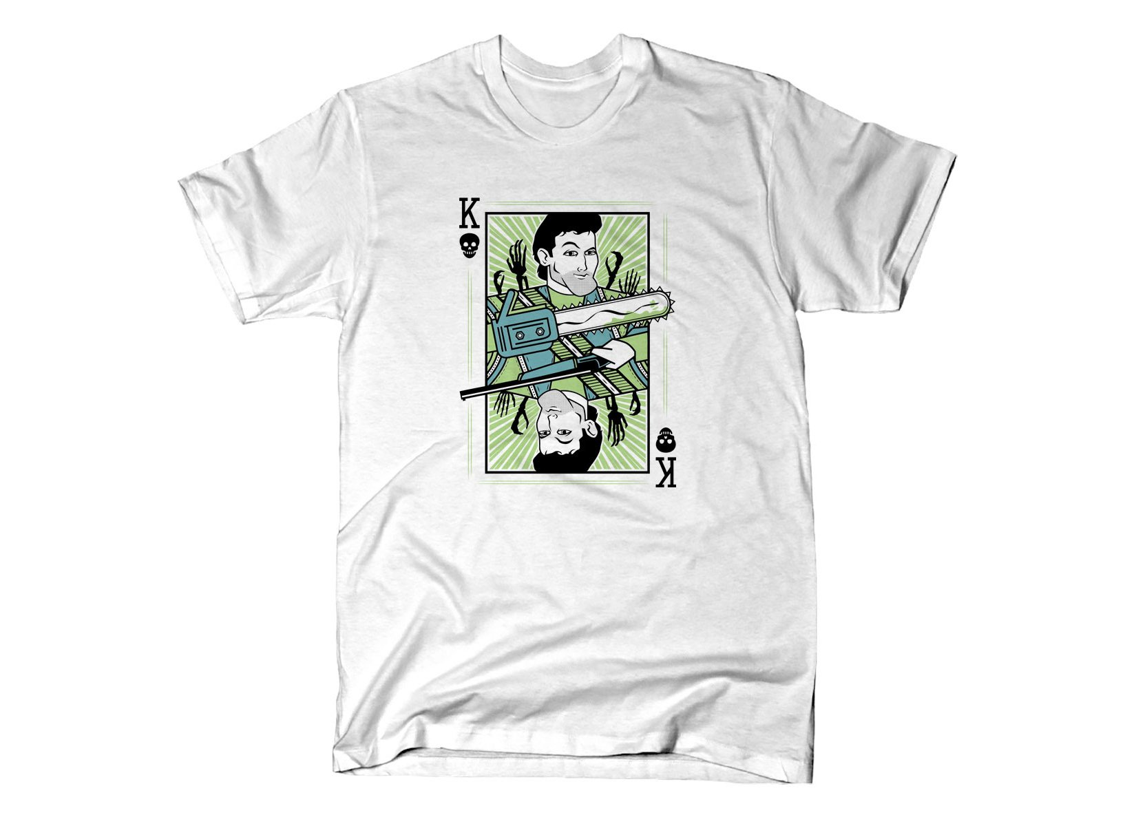 King Ash on Mens T-Shirt