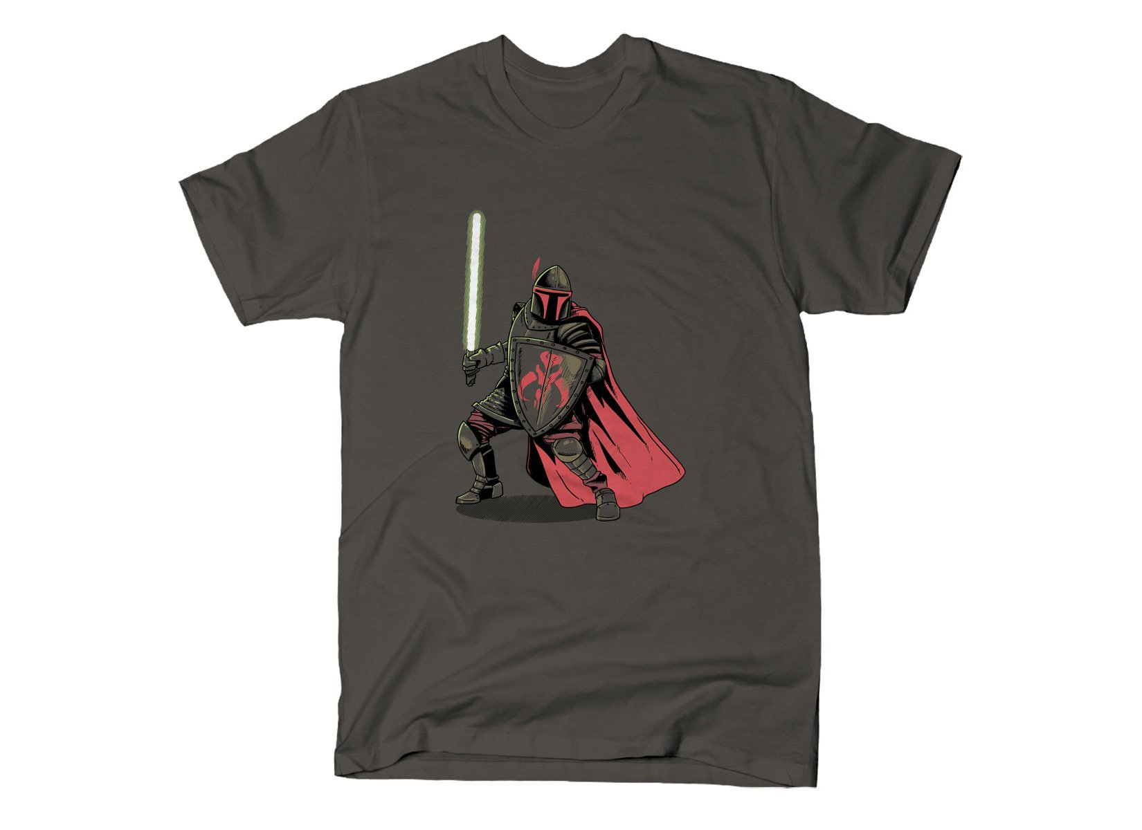 Mandalorian Knight on Mens T-Shirt