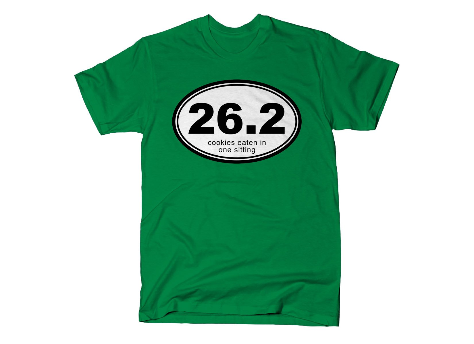 26.2 Cookies Eaten In One Sitting on Mens T-Shirt